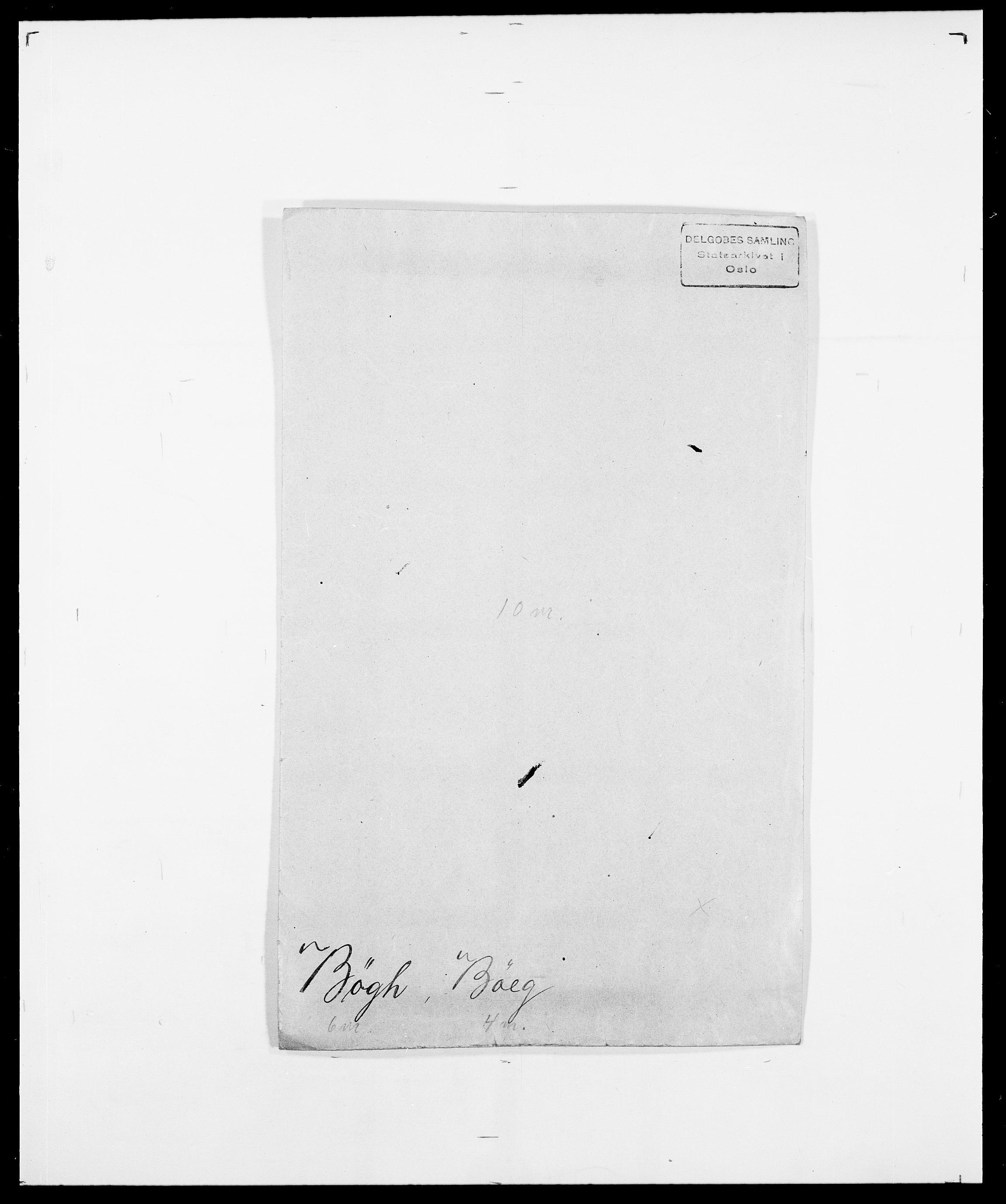 SAO, Delgobe, Charles Antoine - samling, D/Da/L0007: Buaas - Caphengst, s. 705