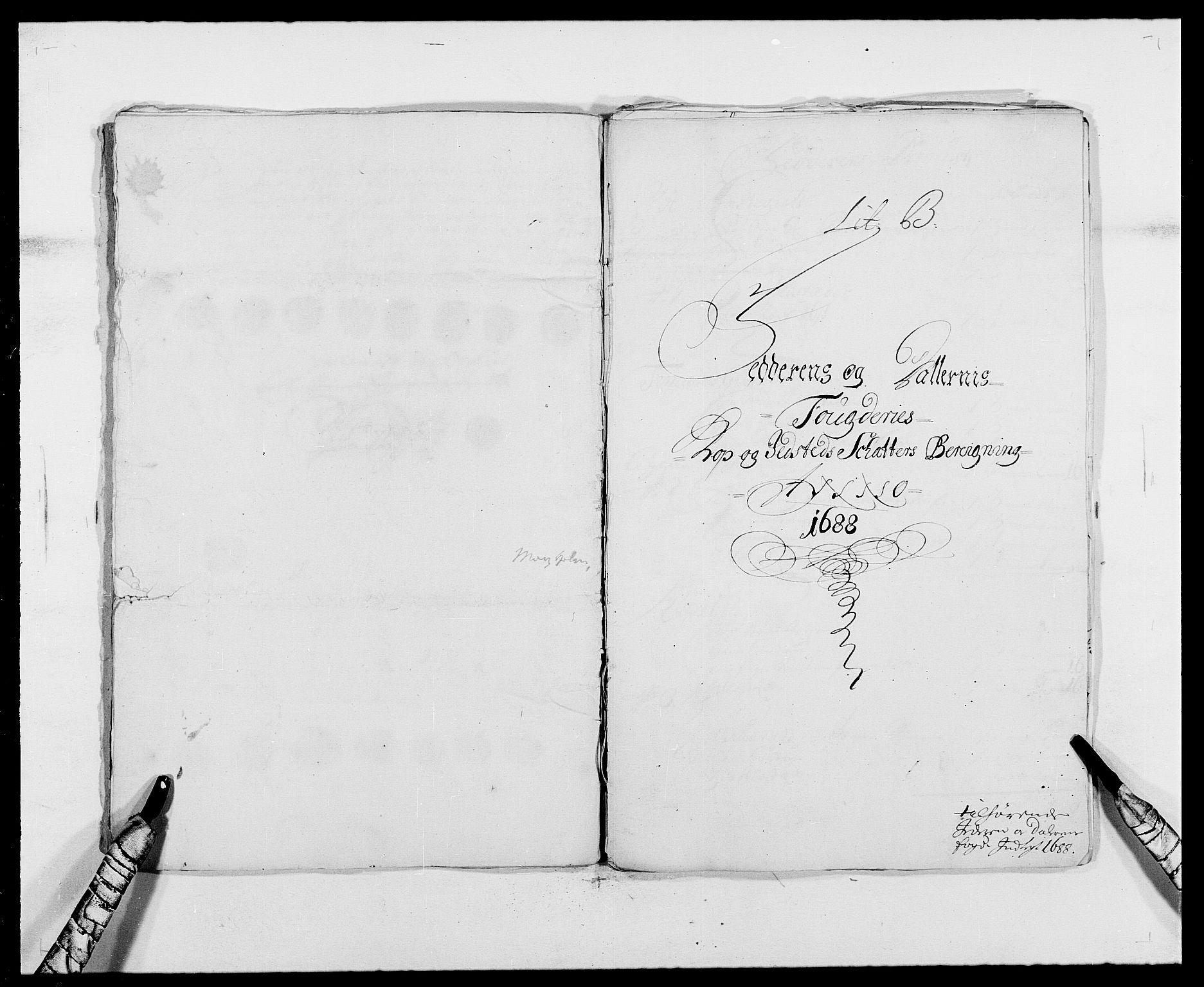 RA, Rentekammeret inntil 1814, Reviderte regnskaper, Fogderegnskap, R46/L2726: Fogderegnskap Jæren og Dalane, 1686-1689, s. 260