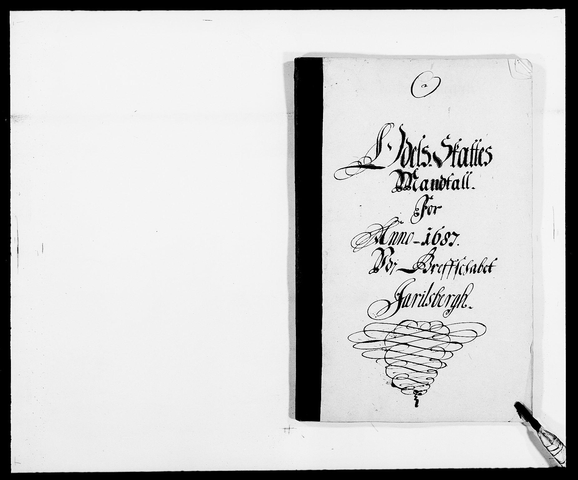 RA, Rentekammeret inntil 1814, Reviderte regnskaper, Fogderegnskap, R32/L1858: Fogderegnskap Jarlsberg grevskap, 1686-1690, s. 156