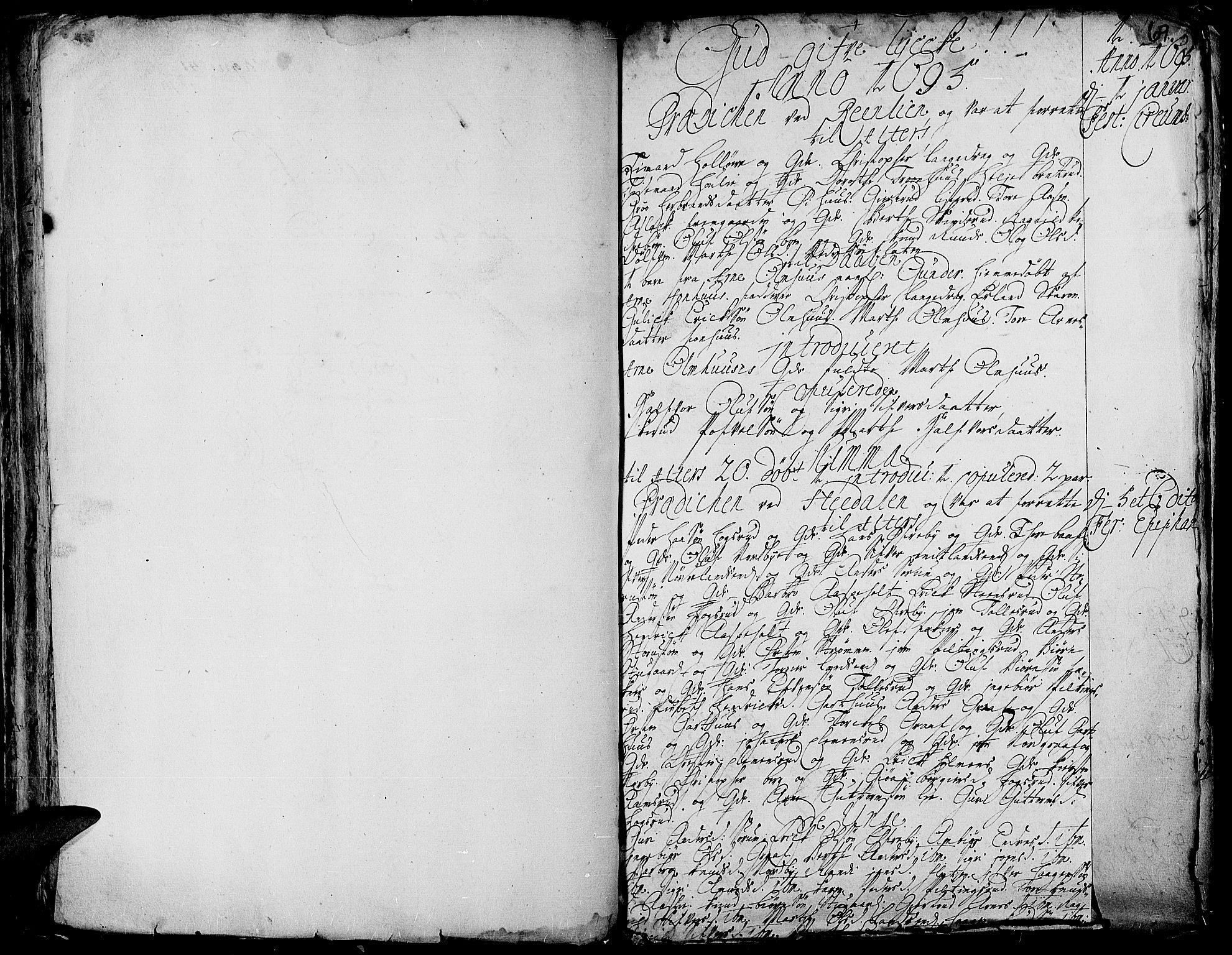 SAH, Aurdal prestekontor, Ministerialbok nr. 1-3, 1692-1730, s. 69