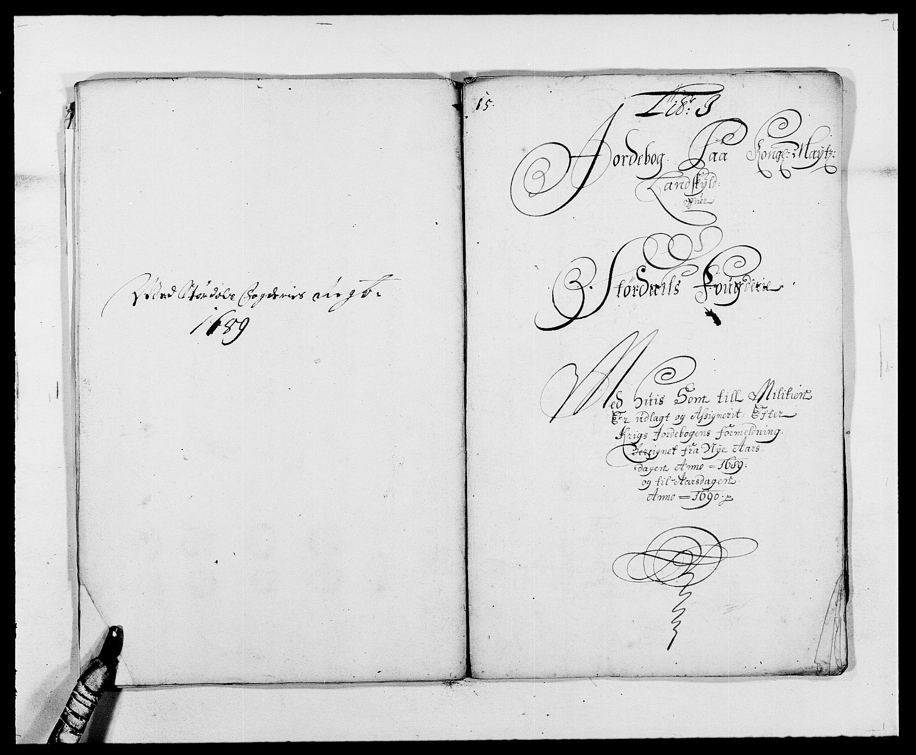 RA, Rentekammeret inntil 1814, Reviderte regnskaper, Fogderegnskap, R62/L4183: Fogderegnskap Stjørdal og Verdal, 1687-1689, s. 369