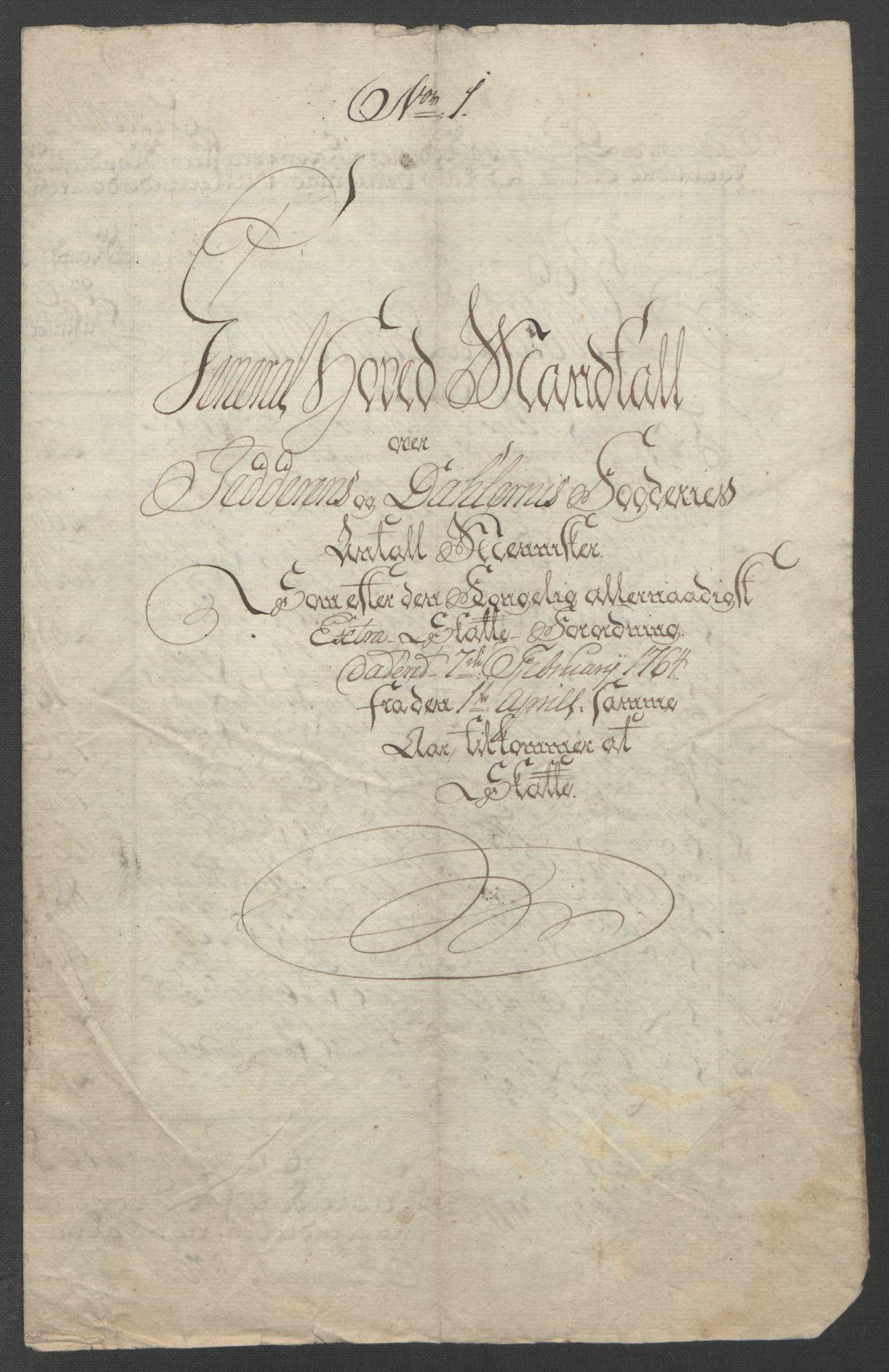 RA, Rentekammeret inntil 1814, Reviderte regnskaper, Fogderegnskap, R46/L2835: Ekstraskatten Jæren og Dalane, 1762-1764, s. 152
