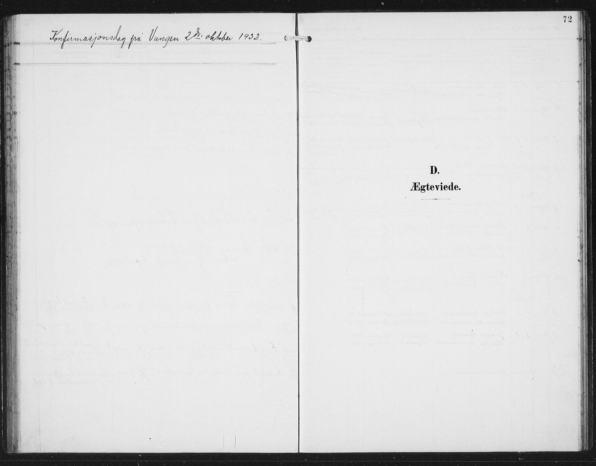 SAB, Aurland Sokneprestembete*, Klokkerbok nr. C 3, 1901-1933, s. 72