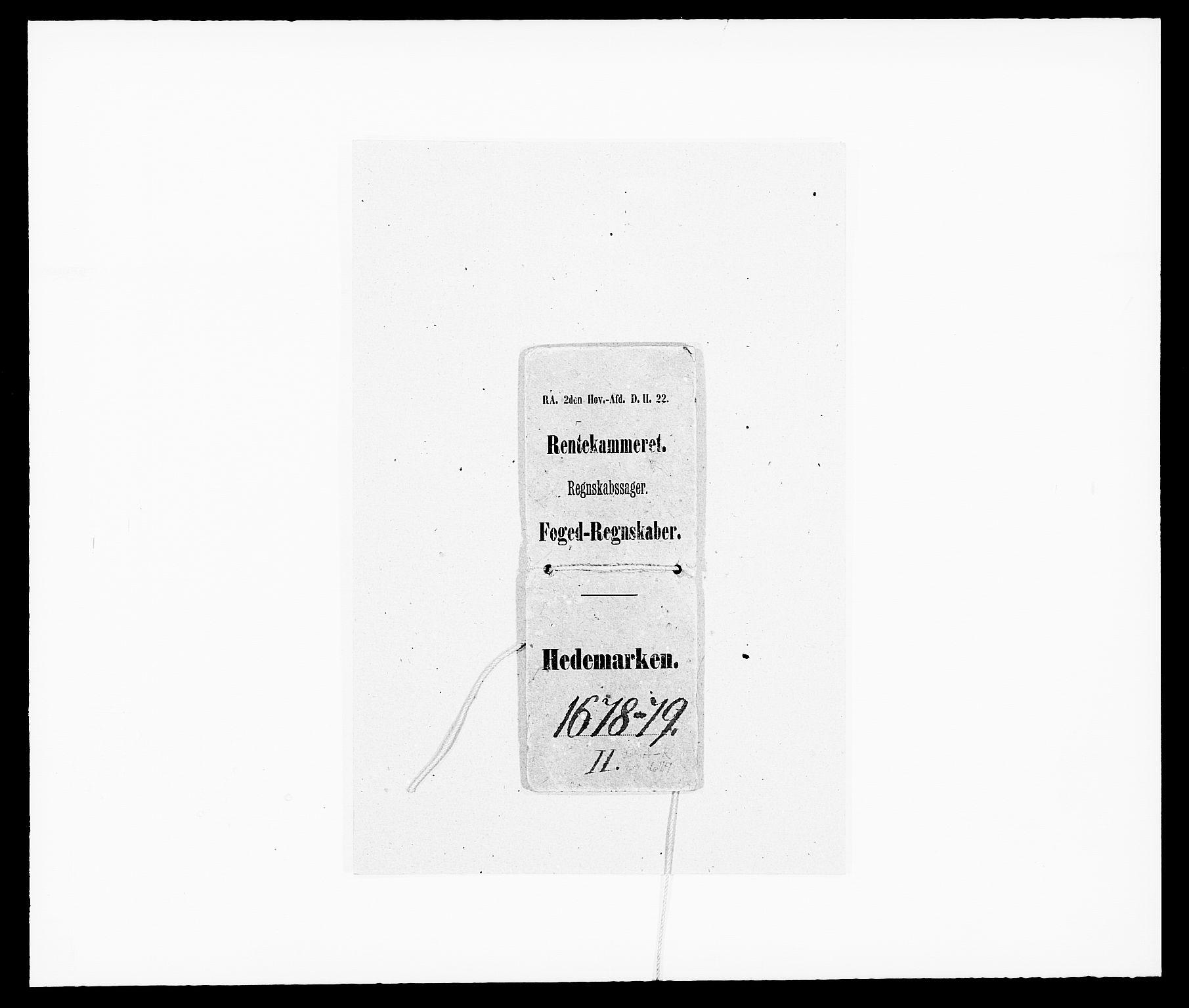 RA, Rentekammeret inntil 1814, Reviderte regnskaper, Fogderegnskap, R16/L1018: Fogderegnskap Hedmark, 1678-1679, s. 1