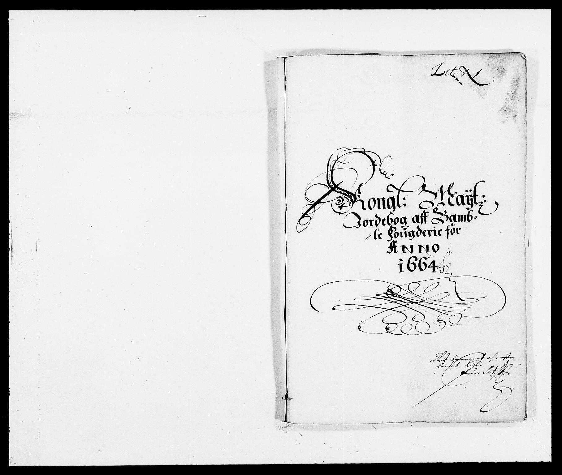 RA, Rentekammeret inntil 1814, Reviderte regnskaper, Fogderegnskap, R34/L2038: Fogderegnskap Bamble, 1662-1669, s. 103