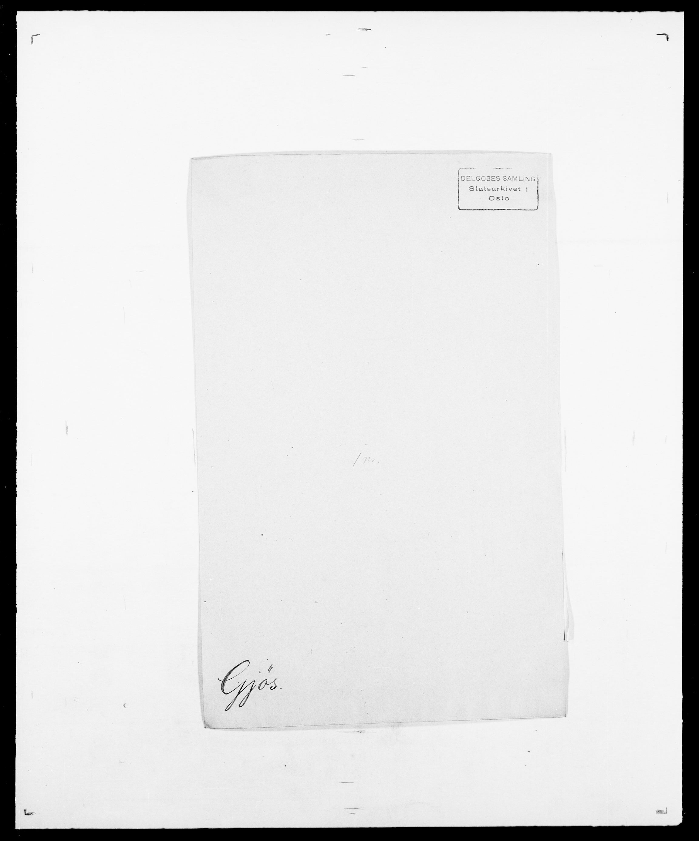 SAO, Delgobe, Charles Antoine - samling, D/Da/L0014: Giebdhausen - Grip, s. 231
