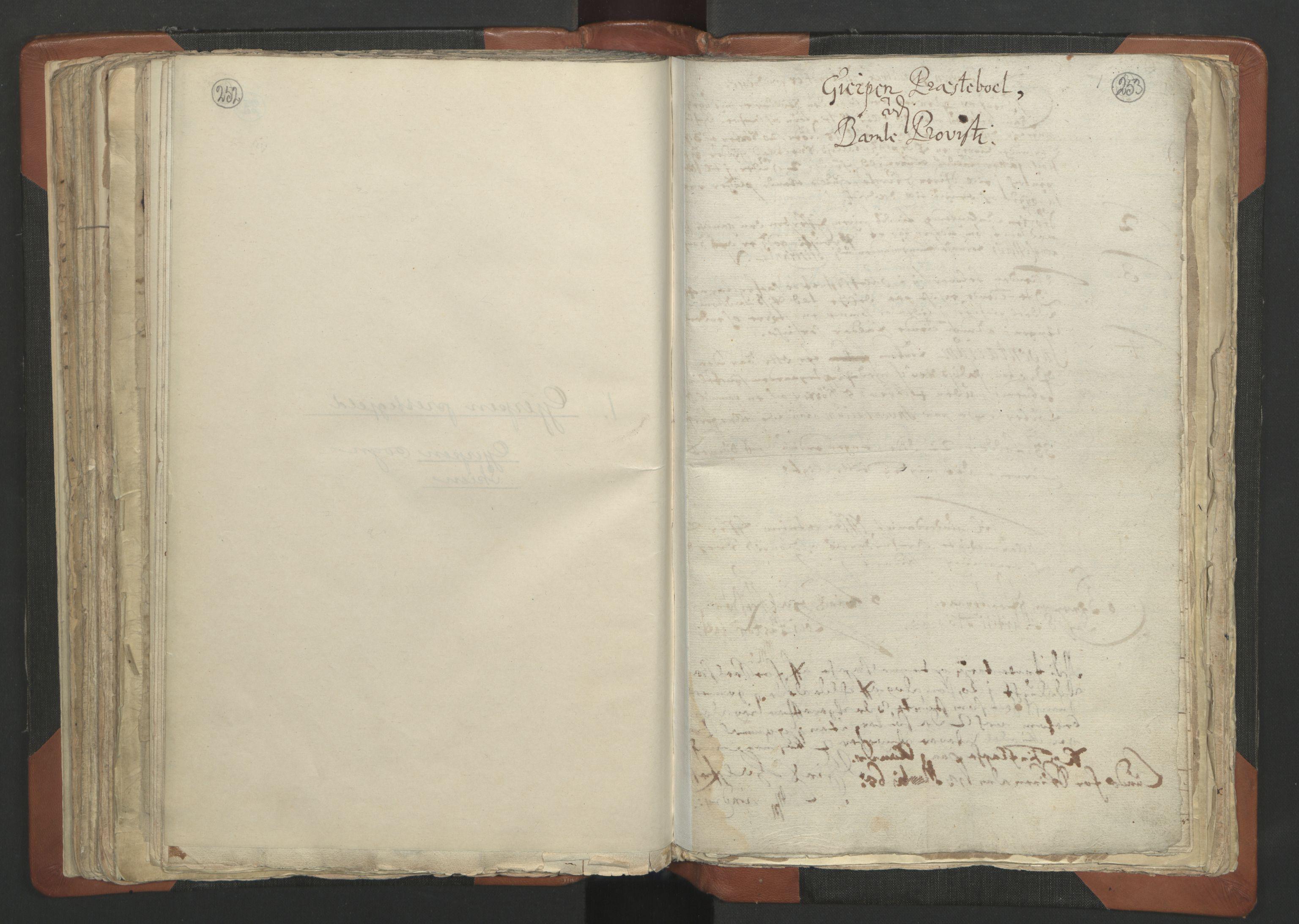 RA, Sogneprestenes manntall 1664-1666, nr. 12: Øvre Telemark prosti, Nedre Telemark prosti og Bamble prosti, 1664-1666, s. 252-253