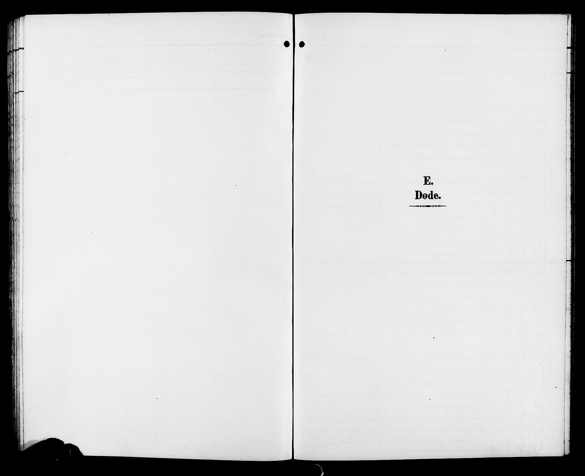 SAH, Sør-Fron prestekontor, H/Ha/Hab/L0004: Klokkerbok nr. 4, 1896-1911