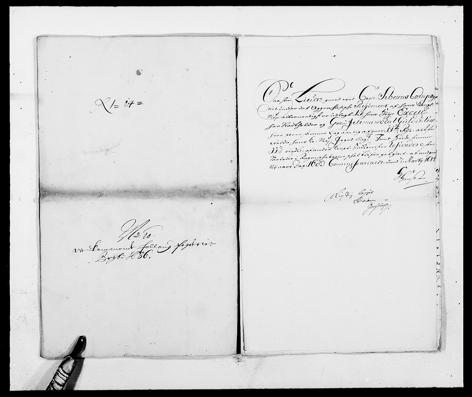 RA, Rentekammeret inntil 1814, Reviderte regnskaper, Fogderegnskap, R09/L0436: Fogderegnskap Follo, 1685-1691, s. 98