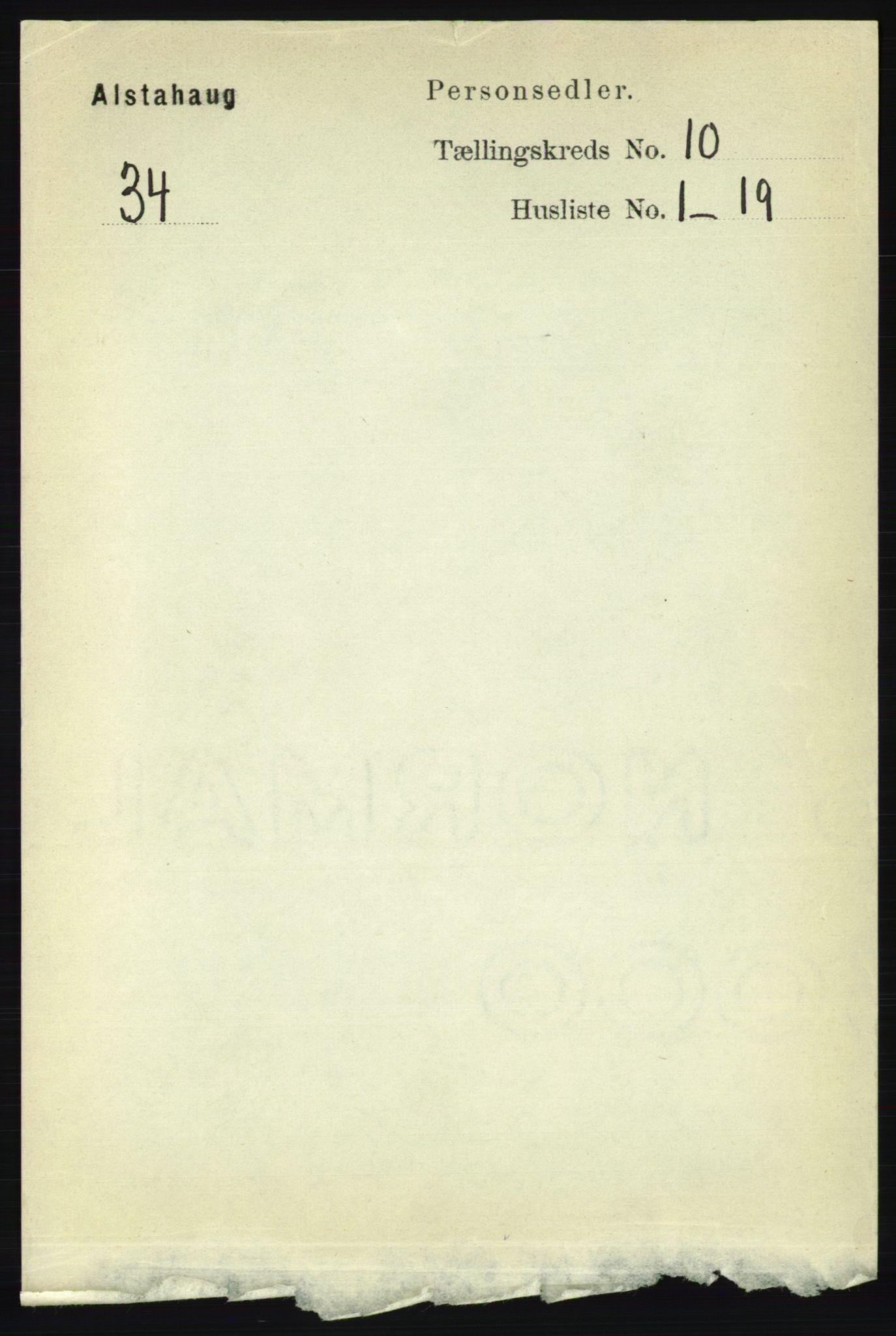 RA, Folketelling 1891 for 1820 Alstahaug herred, 1891, s. 3506