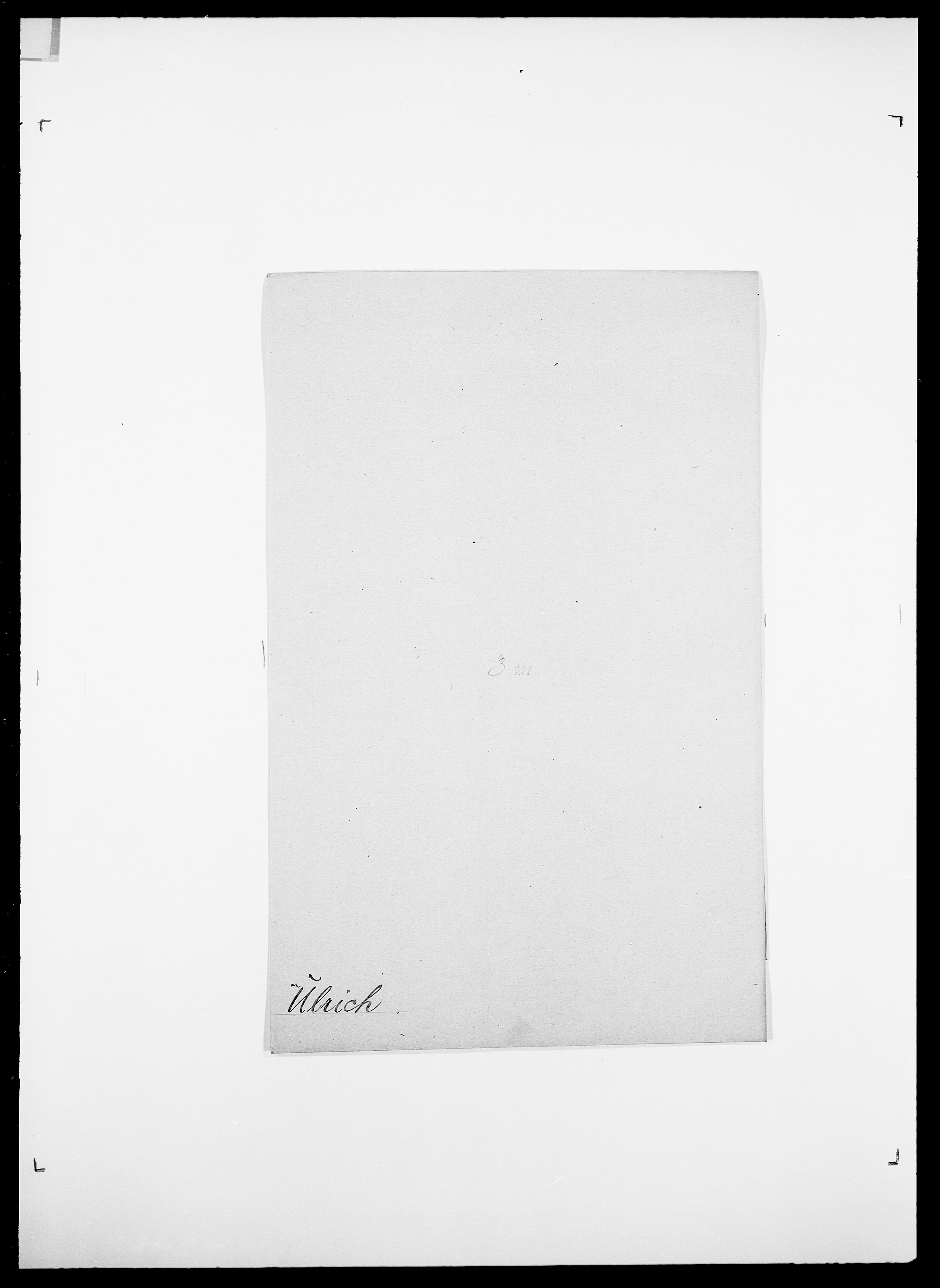 SAO, Delgobe, Charles Antoine - samling, D/Da/L0039: Thorsen - Urup, s. 683