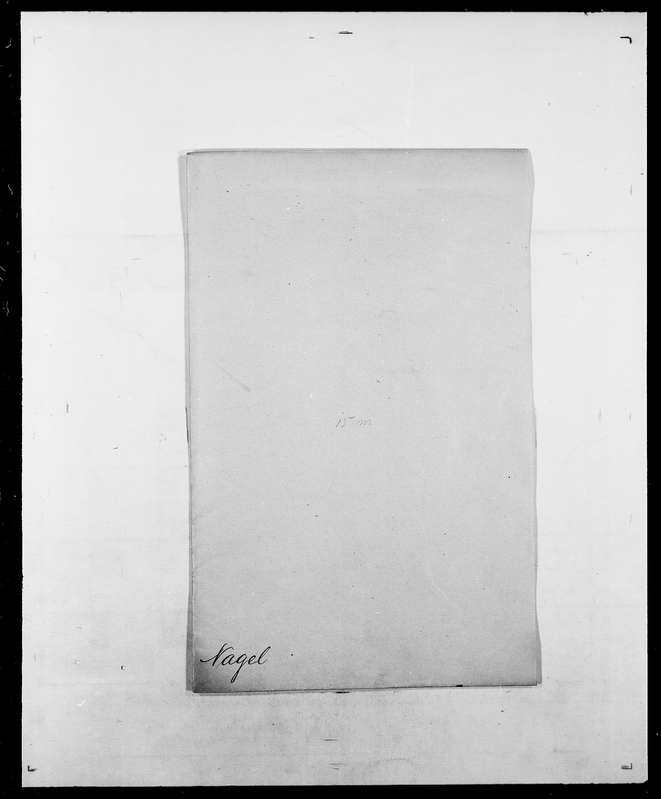 SAO, Delgobe, Charles Antoine - samling, D/Da/L0028: Naaden - Nøvik, s. 3