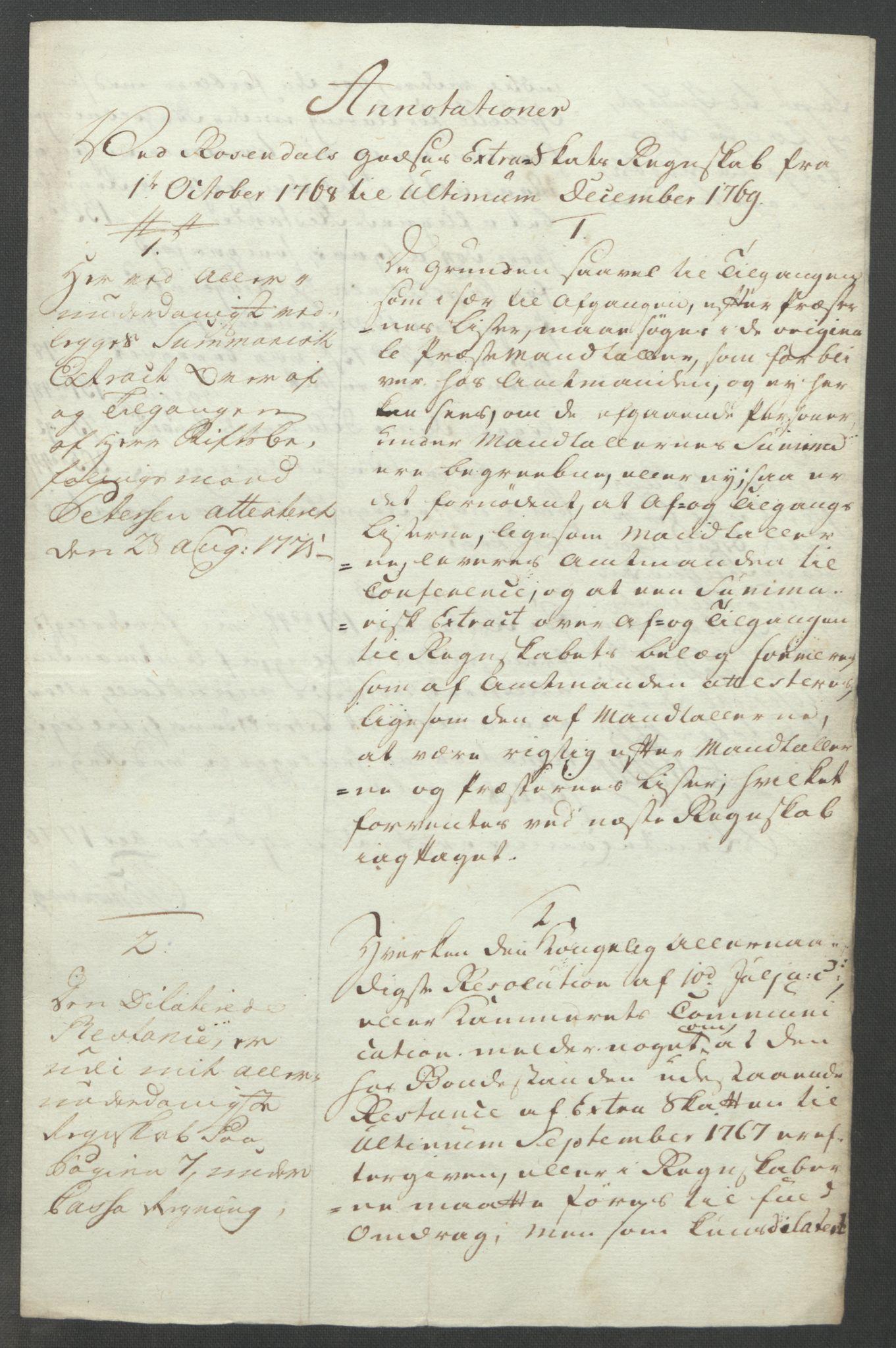 RA, Rentekammeret inntil 1814, Reviderte regnskaper, Fogderegnskap, R49/L3157: Ekstraskatten Rosendal Baroni, 1762-1772, s. 313