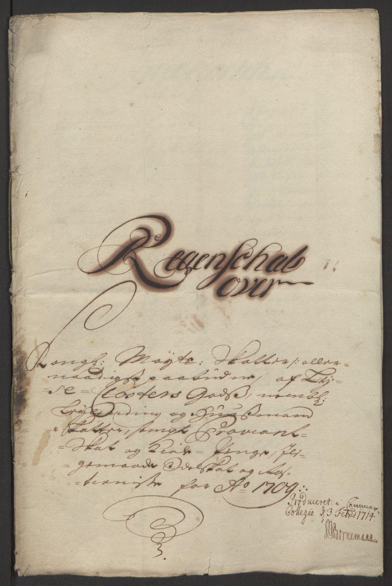 RA, Rentekammeret inntil 1814, Reviderte regnskaper, Fogderegnskap, R50/L3159: Fogderegnskap Lyse kloster, 1691-1709, s. 294