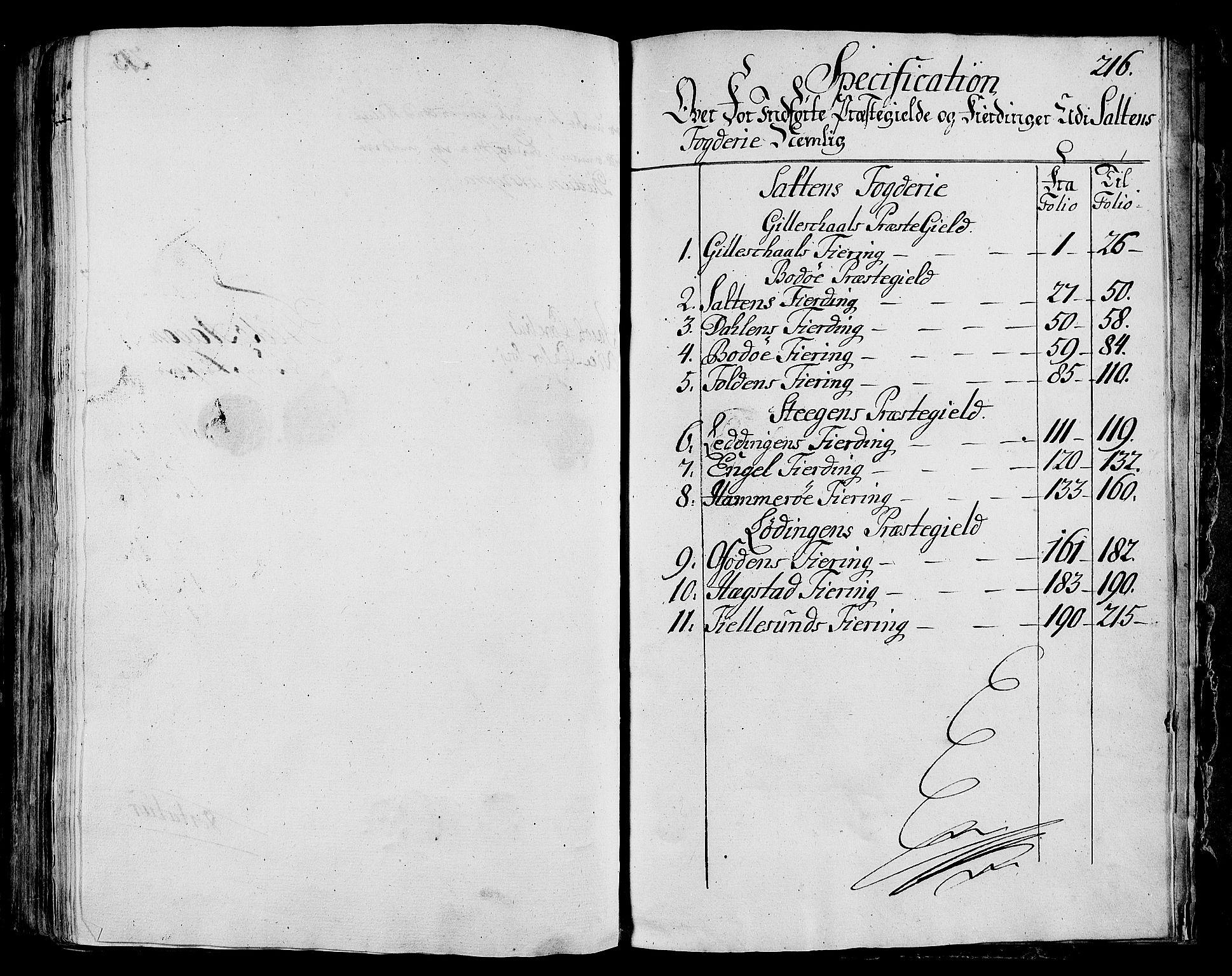 RA, Rentekammeret inntil 1814, Realistisk ordnet avdeling, N/Nb/Nbf/L0172: Salten eksaminasjonsprotokoll, 1723, s. 215b-216a
