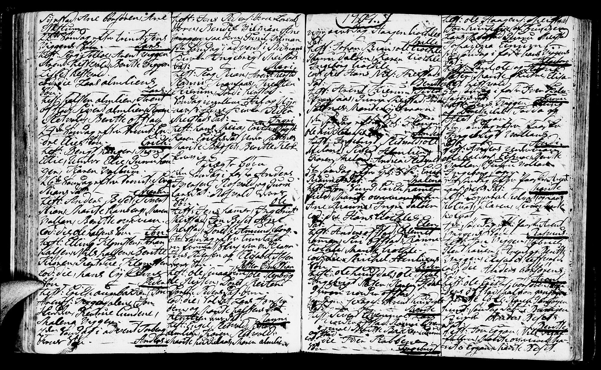 SAT, Ministerialprotokoller, klokkerbøker og fødselsregistre - Sør-Trøndelag, 665/L0768: Ministerialbok nr. 665A03, 1754-1803, s. 101