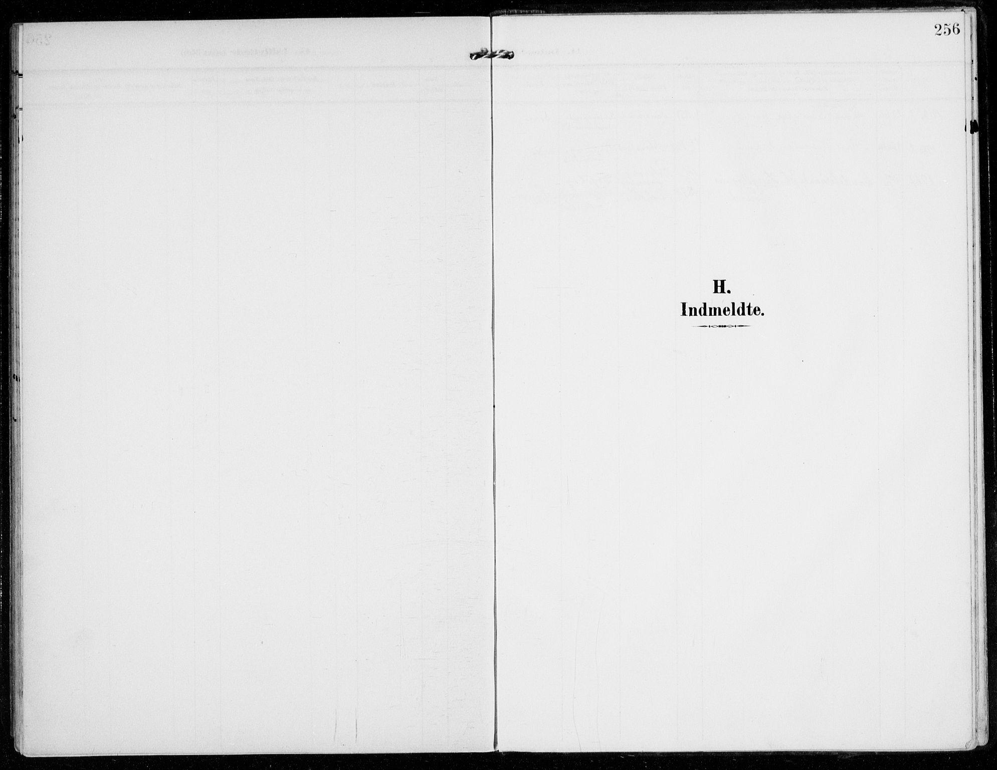 SAO, Vestby prestekontor Kirkebøker, F/Fc/L0002: Ministerialbok nr. III 2, 1906-1940, s. 256