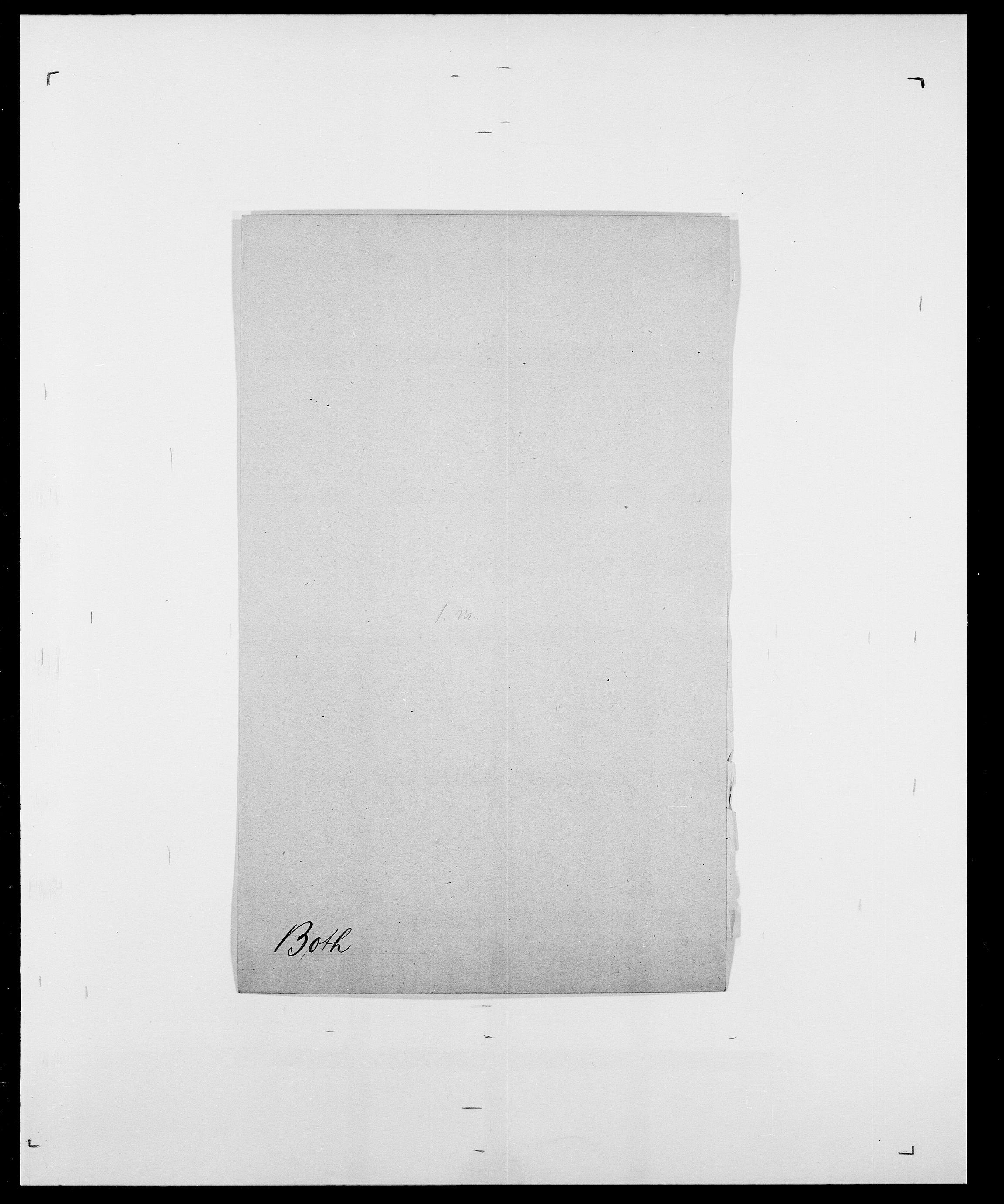 SAO, Delgobe, Charles Antoine - samling, D/Da/L0005: Boalth - Brahm, s. 338