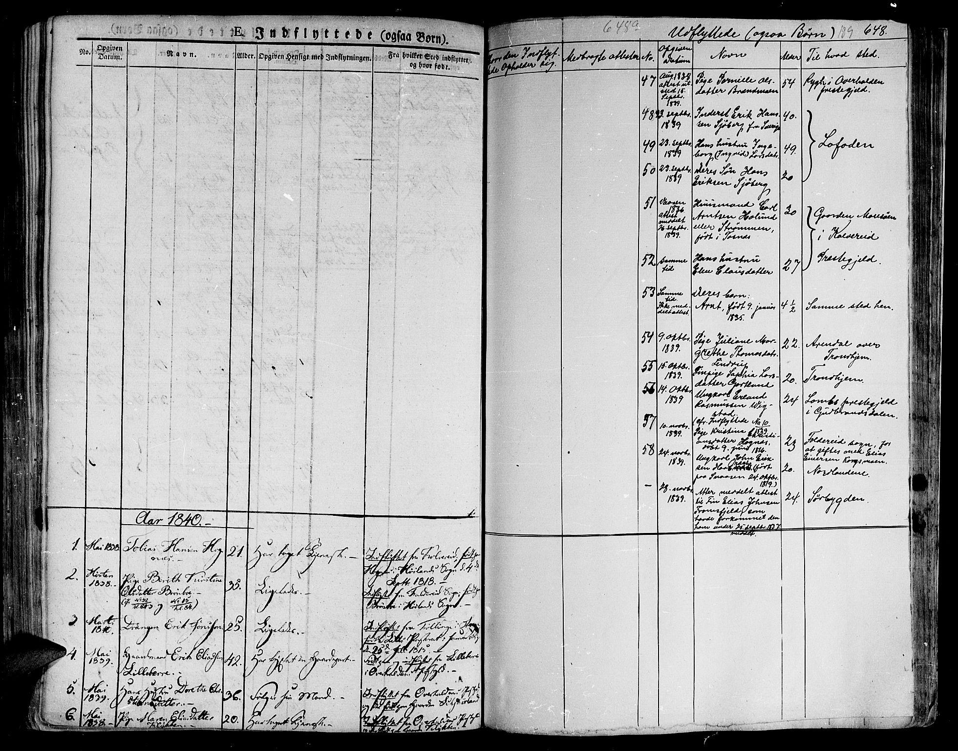 SAT, Ministerialprotokoller, klokkerbøker og fødselsregistre - Nord-Trøndelag, 758/L0510: Ministerialbok nr. 758A01 /1, 1821-1841, s. 189