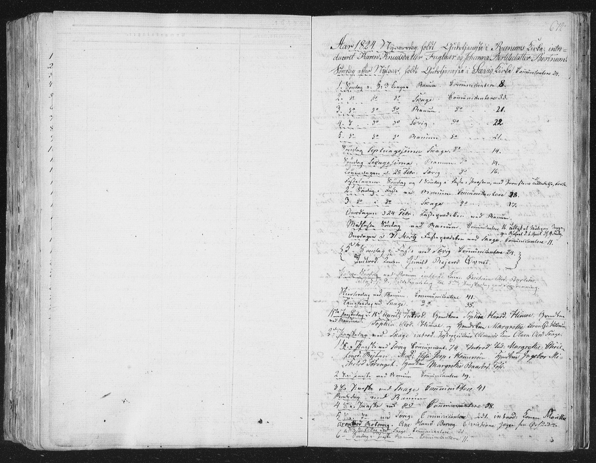 SAT, Ministerialprotokoller, klokkerbøker og fødselsregistre - Nord-Trøndelag, 764/L0552: Ministerialbok nr. 764A07b, 1824-1865, s. 672