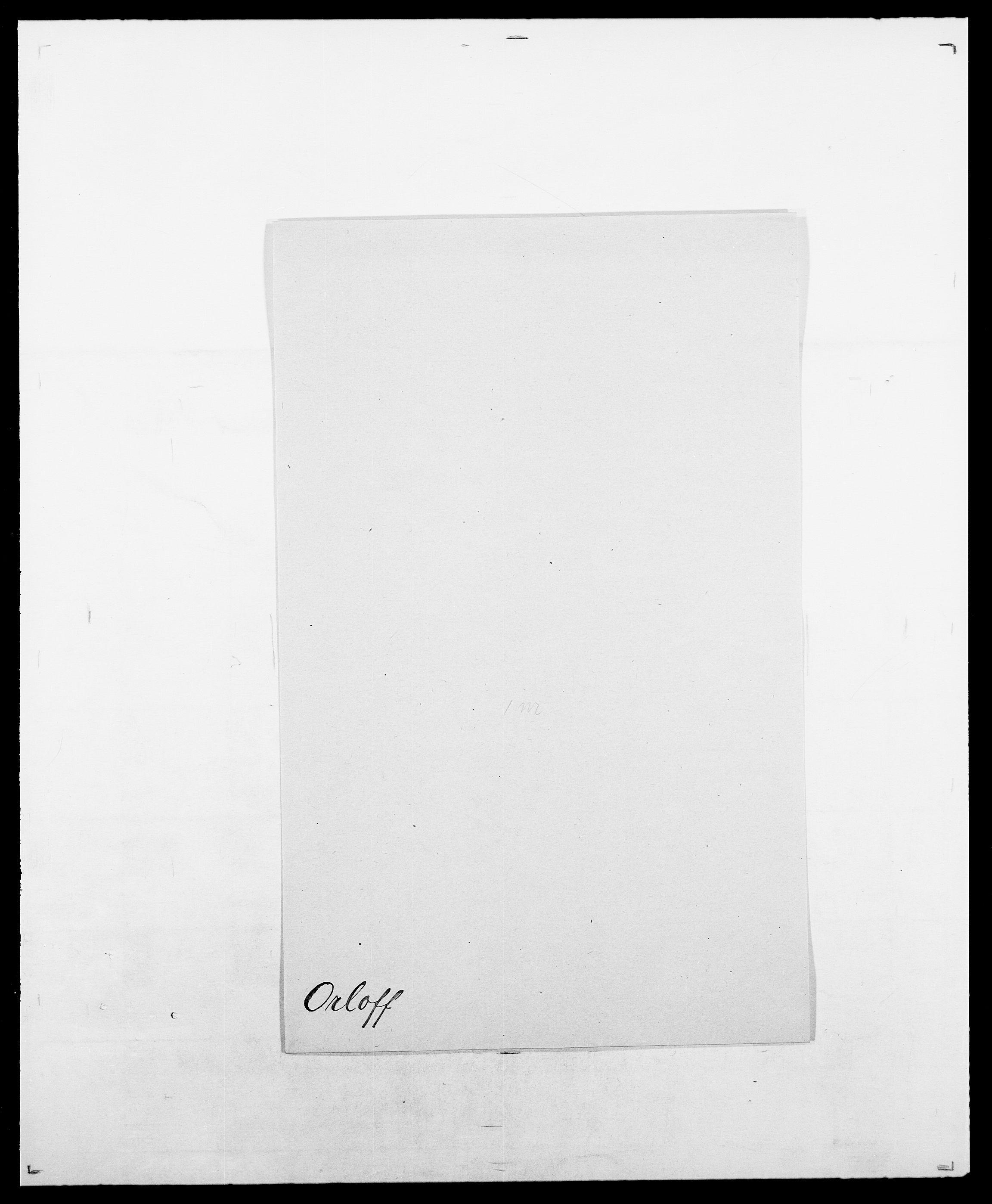 SAO, Delgobe, Charles Antoine - samling, D/Da/L0029: Obel - Oxholm, s. 410