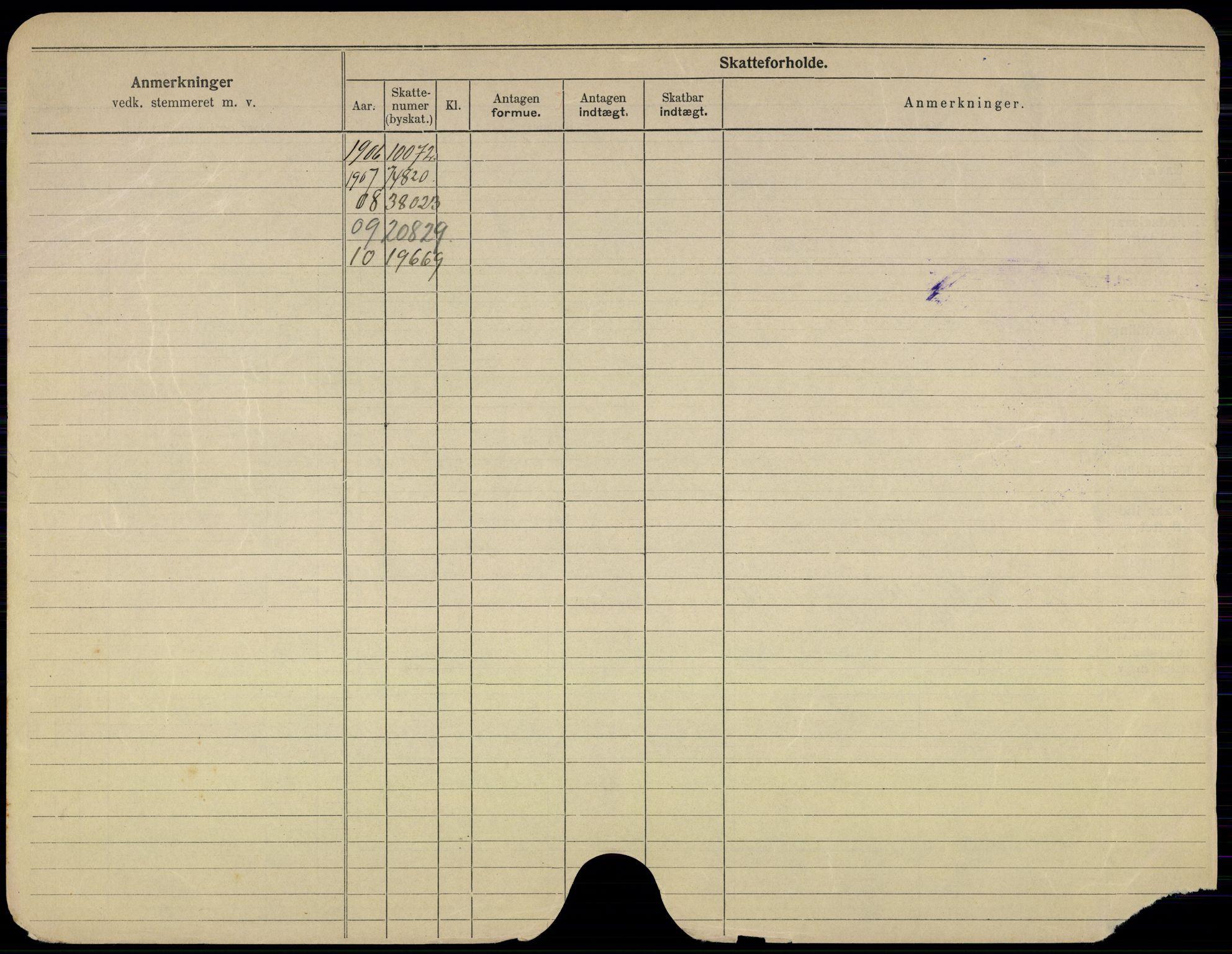 SAO, Oslo folkeregister, Registerkort, G/Gb/L0011: Menn, 1911