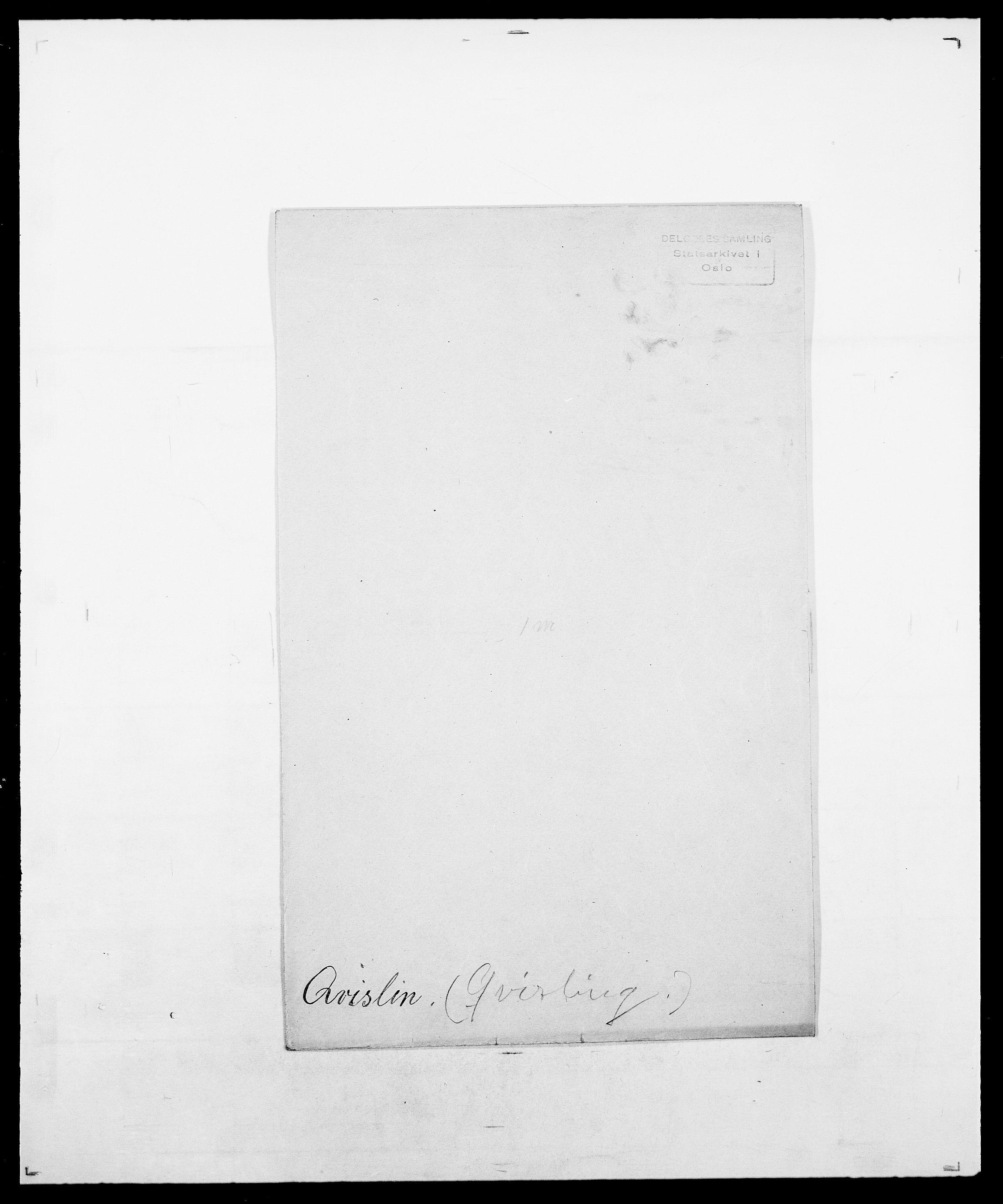 SAO, Delgobe, Charles Antoine - samling, D/Da/L0031: de Place - Raaum, s. 506