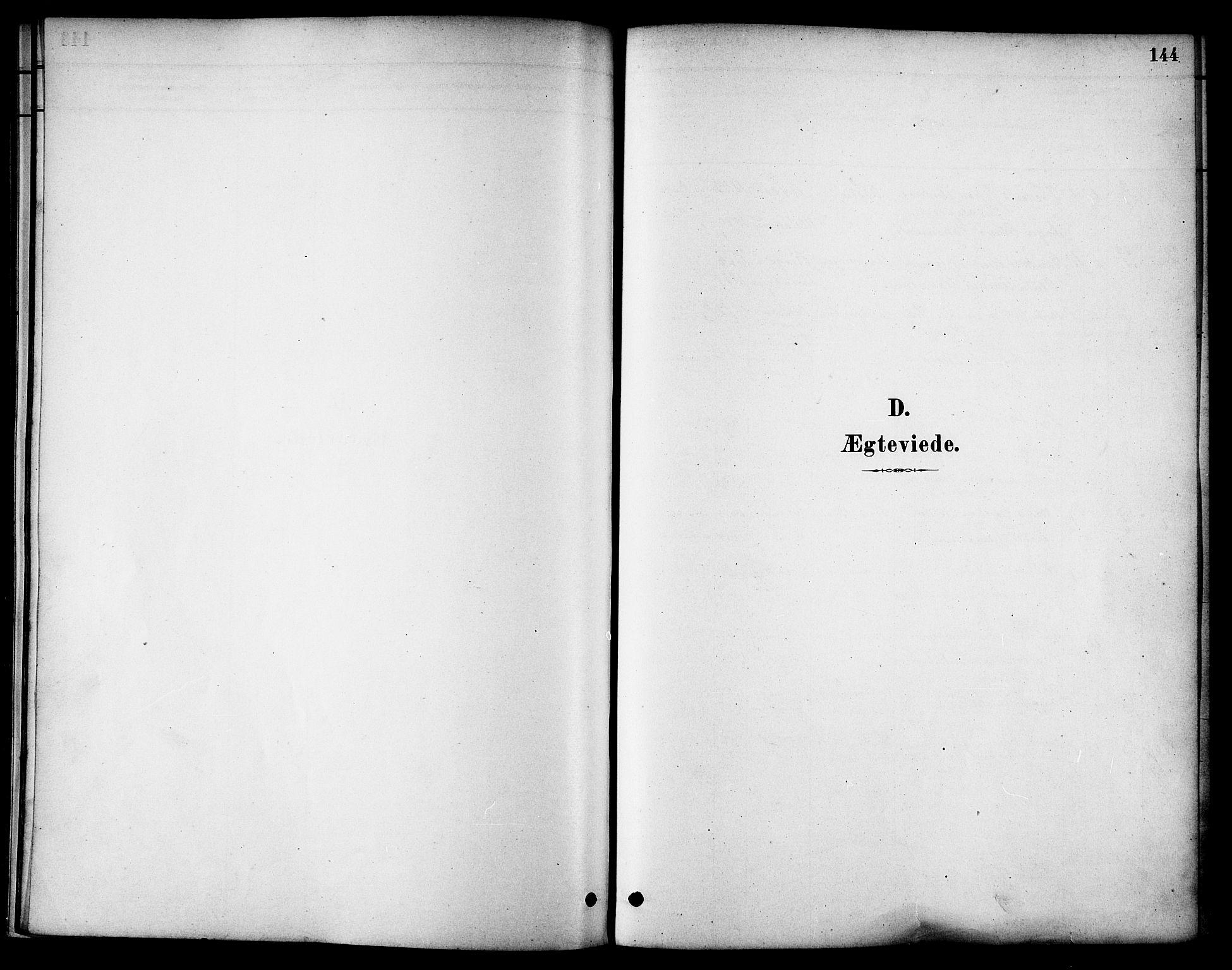 SAT, Ministerialprotokoller, klokkerbøker og fødselsregistre - Nordland, 801/L0030: Klokkerbok nr. 801C05, 1879-1887, s. 144