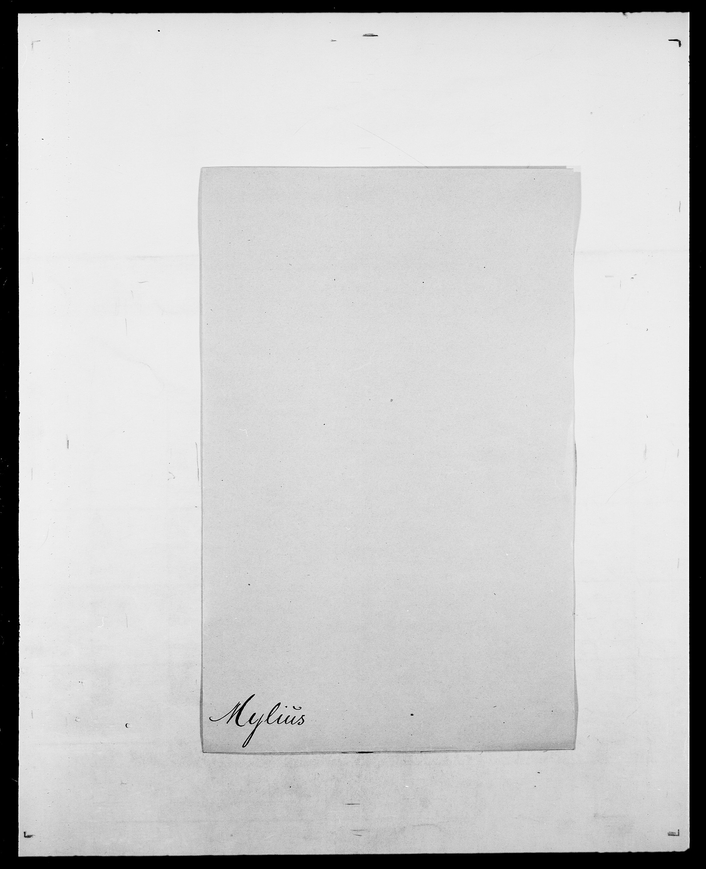 SAO, Delgobe, Charles Antoine - samling, D/Da/L0027: Morath - v. Møsting, s. 360