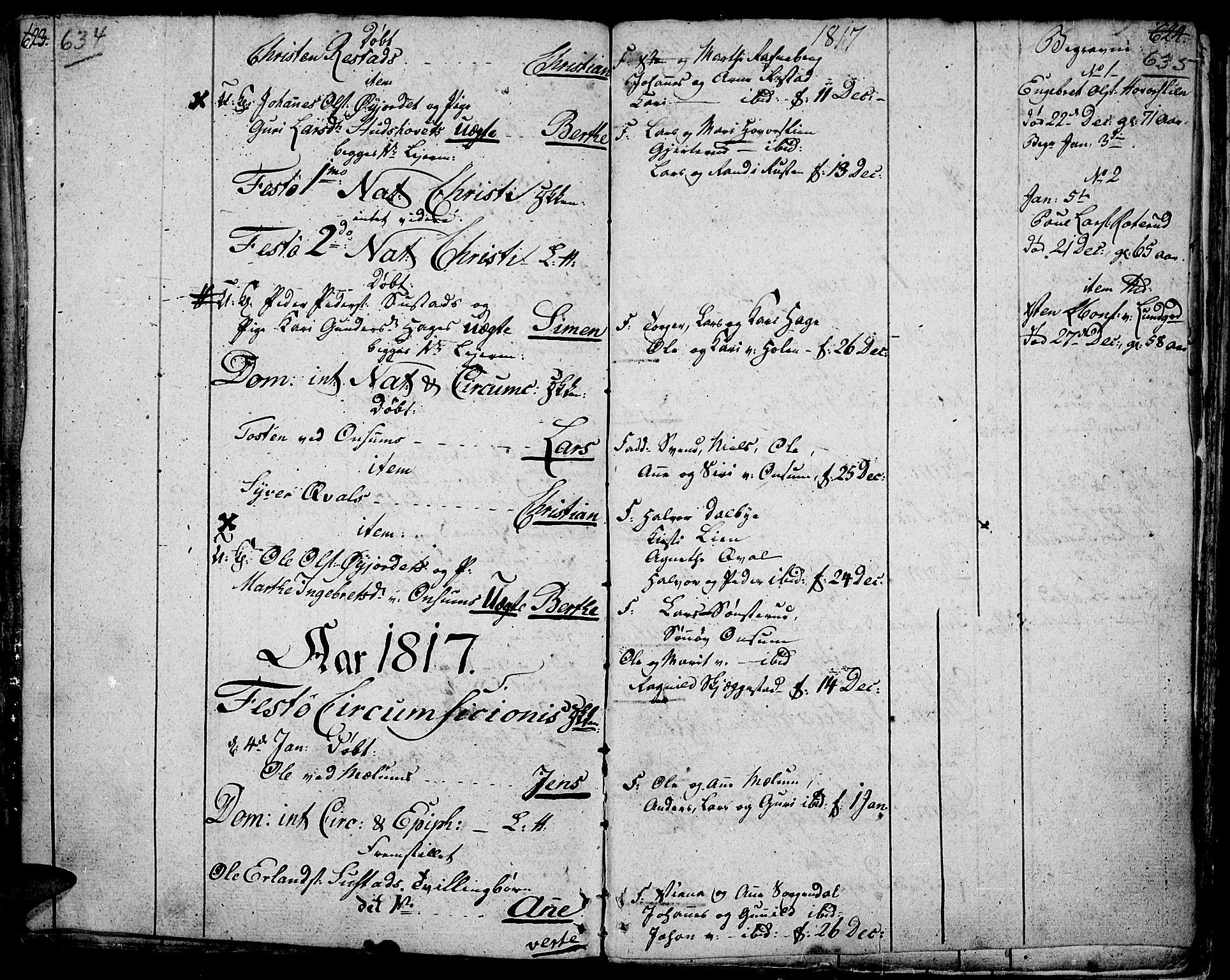 SAH, Fåberg prestekontor, Ministerialbok nr. 2, 1775-1818, s. 634-635