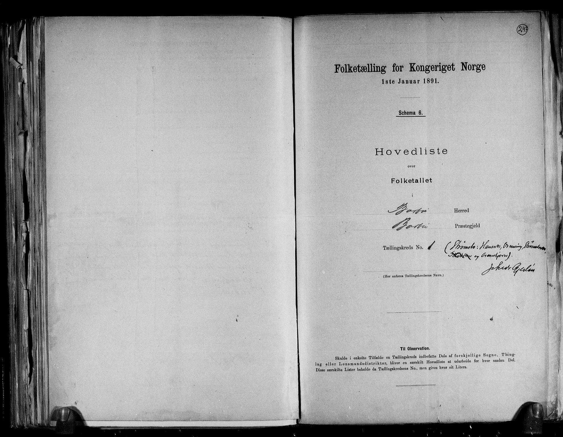 RA, Folketelling 1891 for 0990 Barbu herred, 1891, s. 4