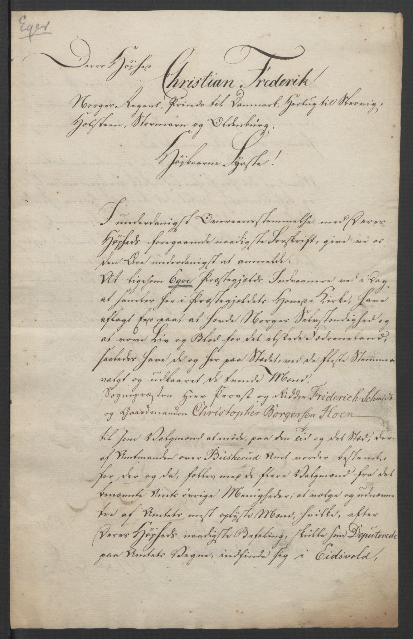 RA, Statsrådssekretariatet, D/Db/L0007: Fullmakter for Eidsvollsrepresentantene i 1814. , 1814, s. 308