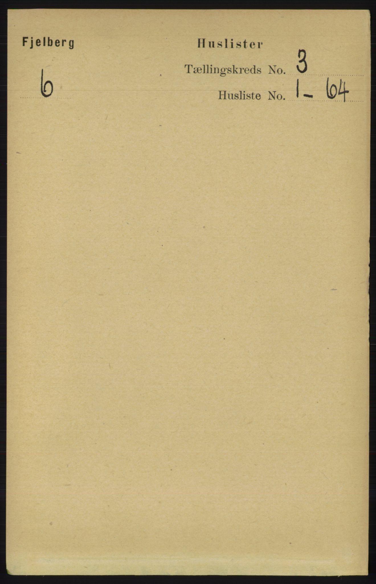 RA, Folketelling 1891 for 1213 Fjelberg herred, 1891, s. 720
