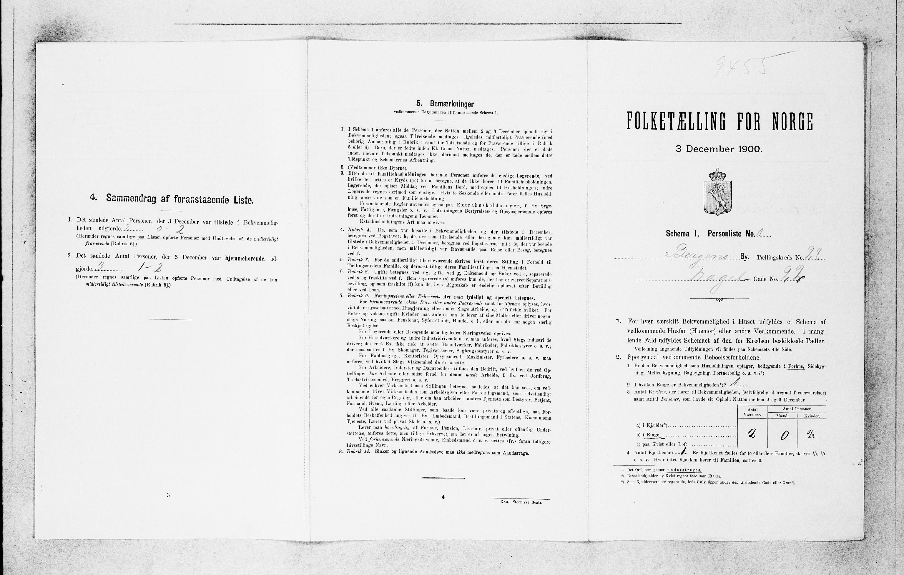 SAB, Folketelling 1900 for 1301 Bergen kjøpstad, 1900, s. 5969