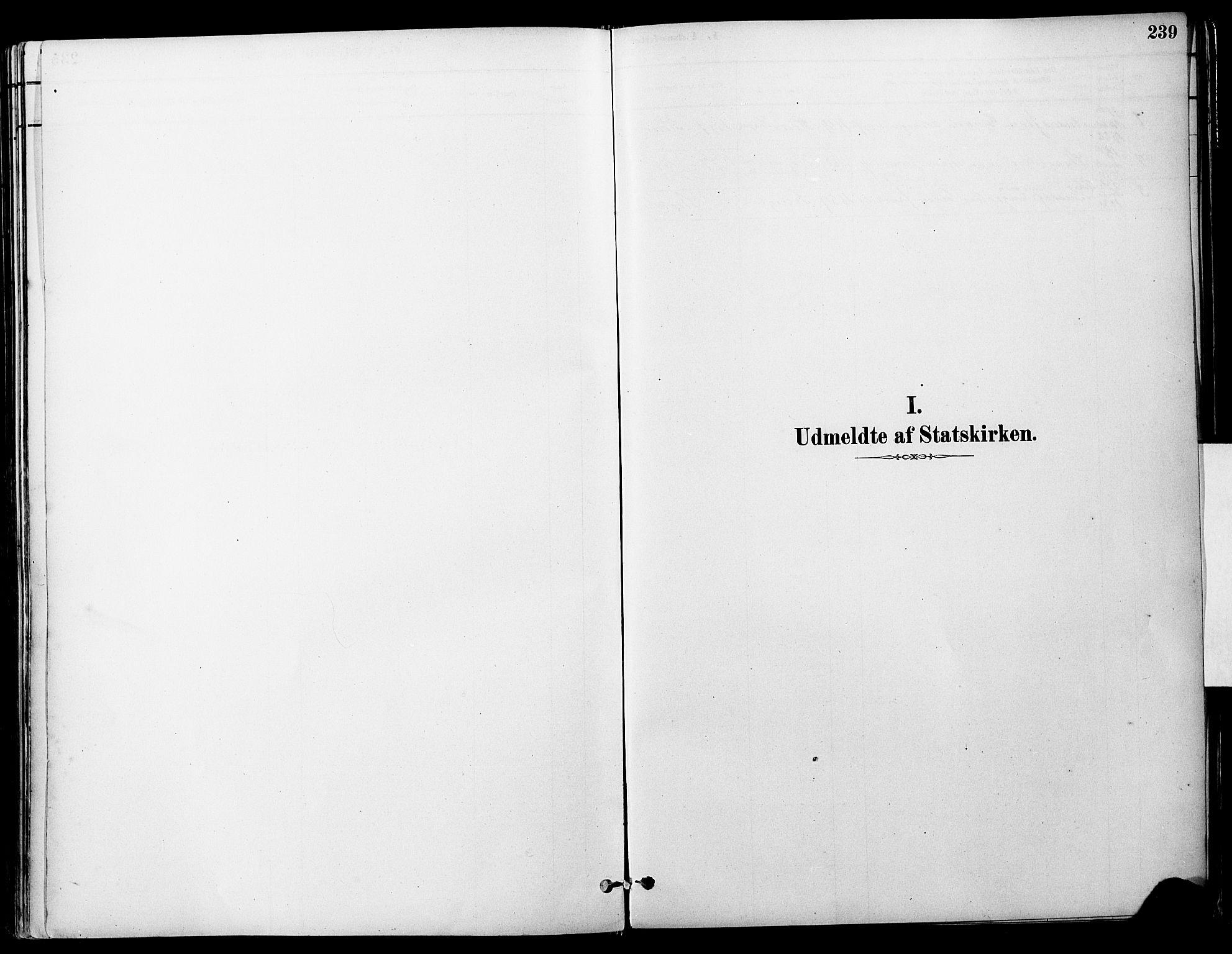 SAT, Ministerialprotokoller, klokkerbøker og fødselsregistre - Sør-Trøndelag, 681/L0933: Ministerialbok nr. 681A11, 1879-1890, s. 239