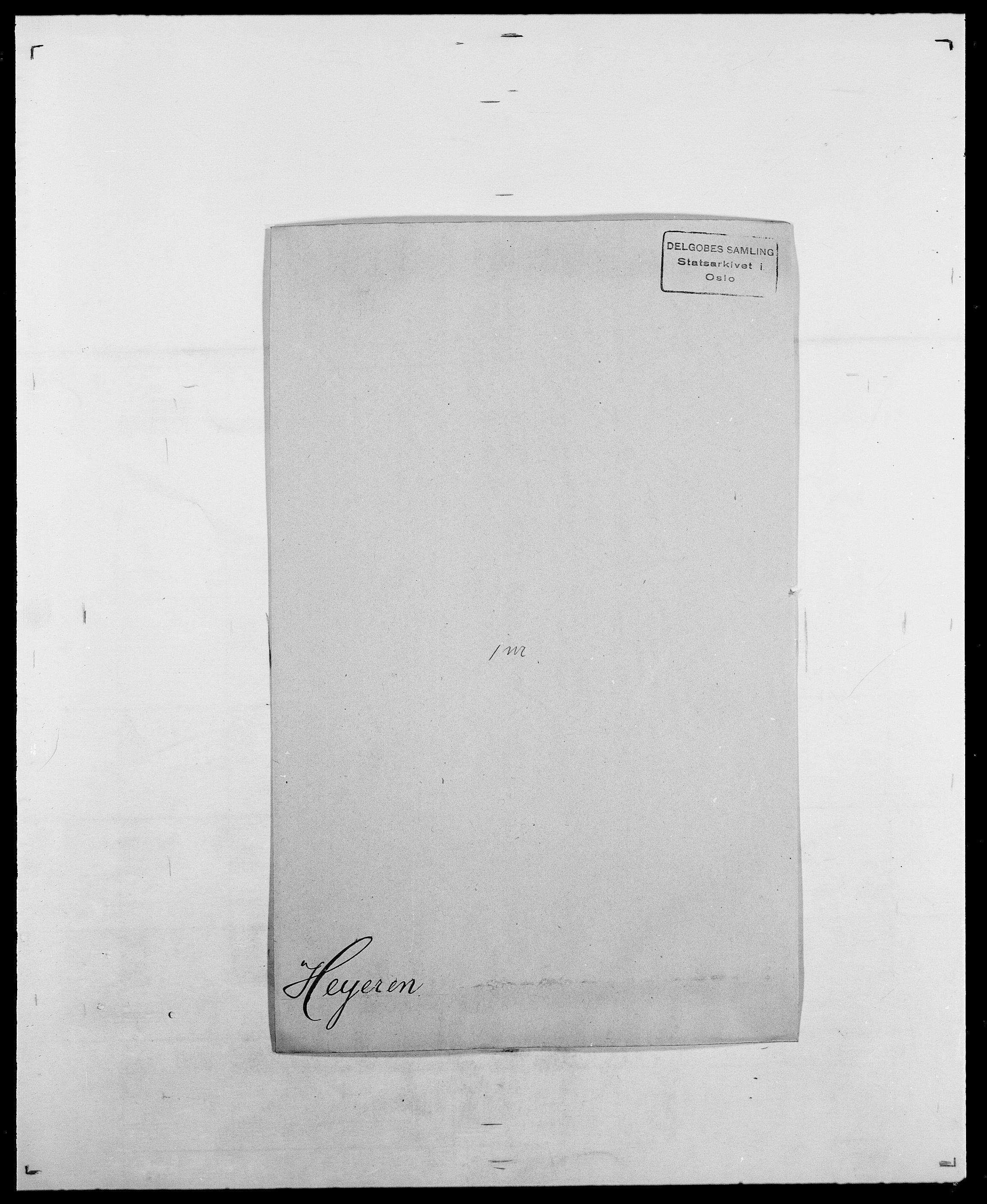 SAO, Delgobe, Charles Antoine - samling, D/Da/L0017: Helander - Hjørne, s. 393