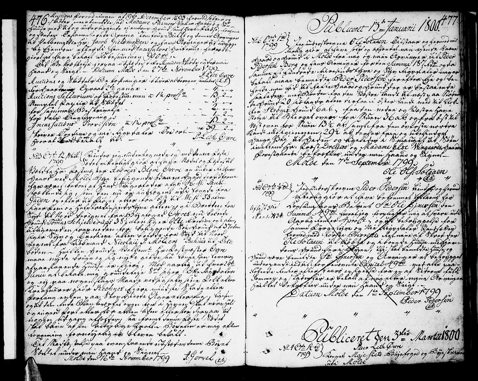 SAT, Molde byfogd, 2/2C/L0001: Pantebok nr. 1, 1748-1823, s. 476-477