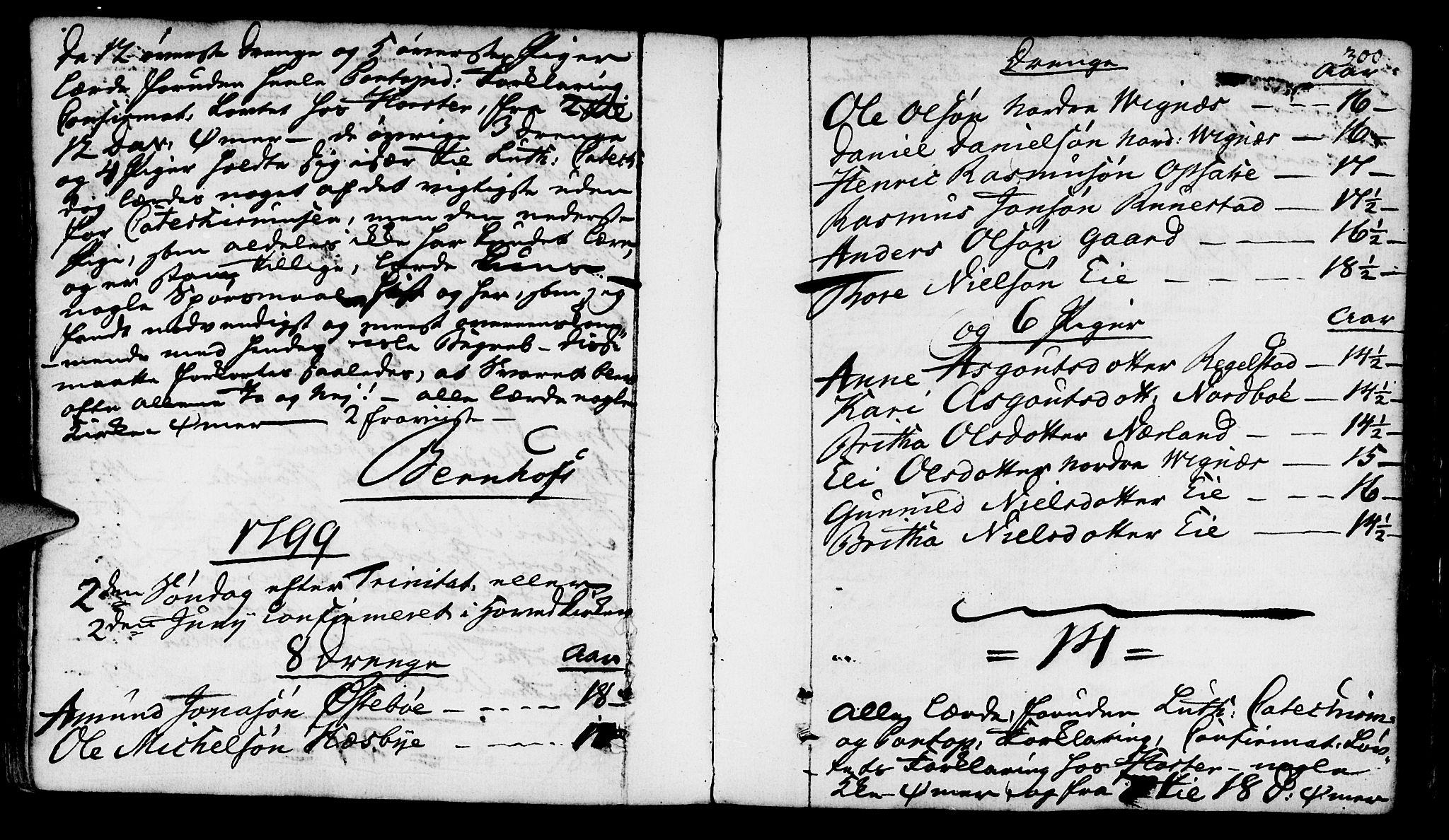 SAST, Finnøy sokneprestkontor, H/Ha/Haa/L0005: Ministerialbok nr. A 5, 1773-1816, s. 300