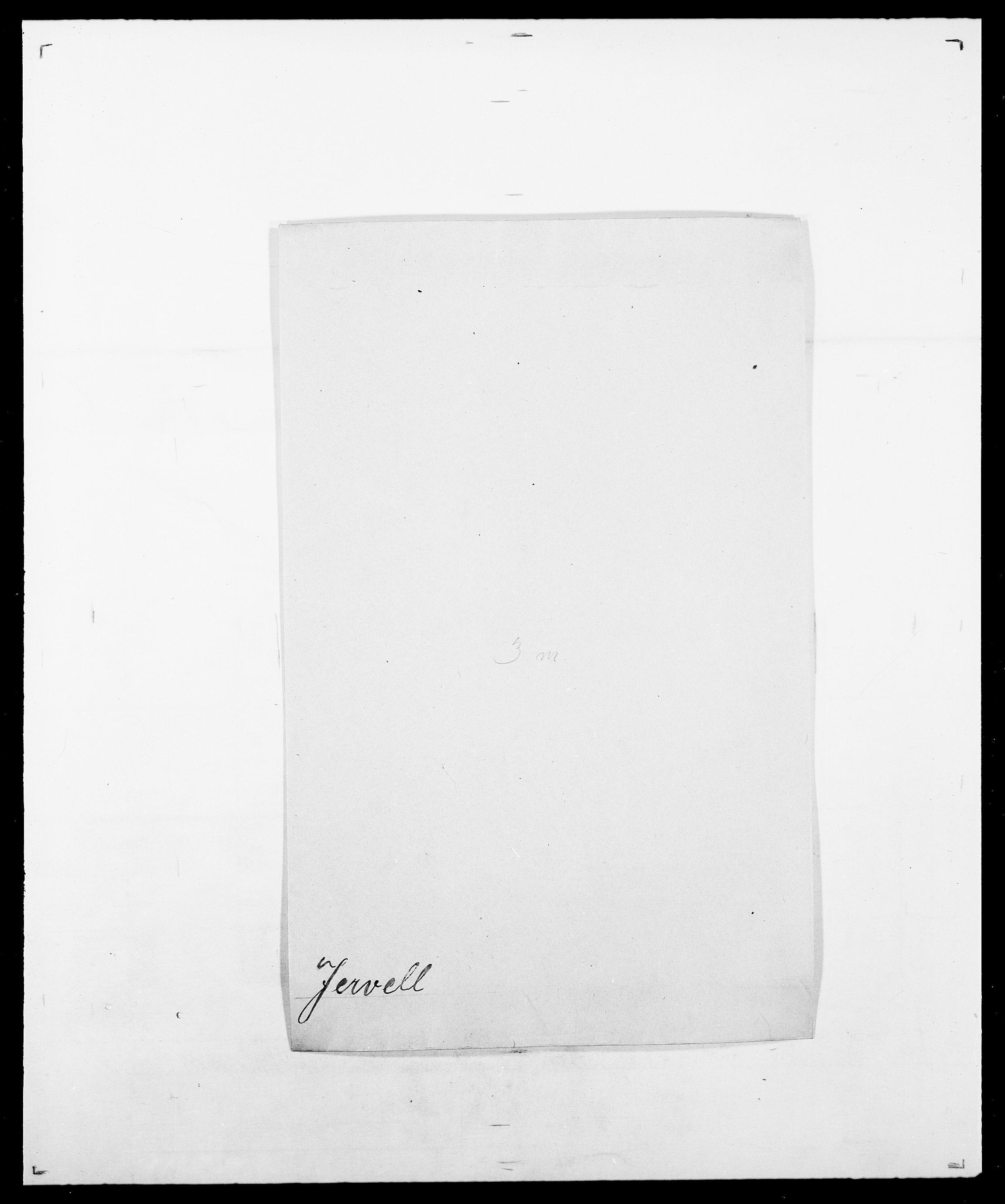 SAO, Delgobe, Charles Antoine - samling, D/Da/L0019: van der Hude - Joys, s. 715