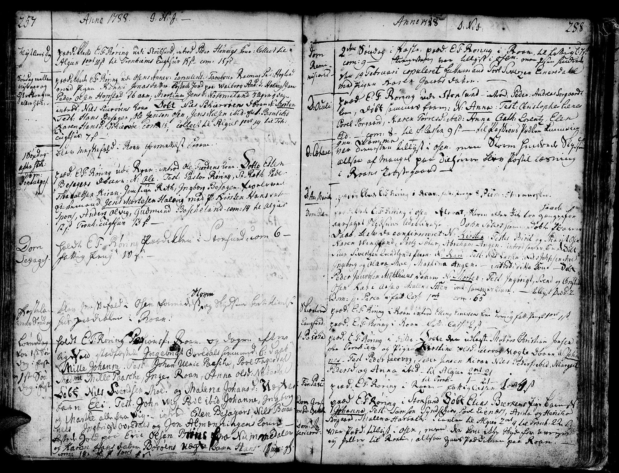 SAT, Ministerialprotokoller, klokkerbøker og fødselsregistre - Sør-Trøndelag, 657/L0700: Ministerialbok nr. 657A01, 1732-1801, s. 357-358