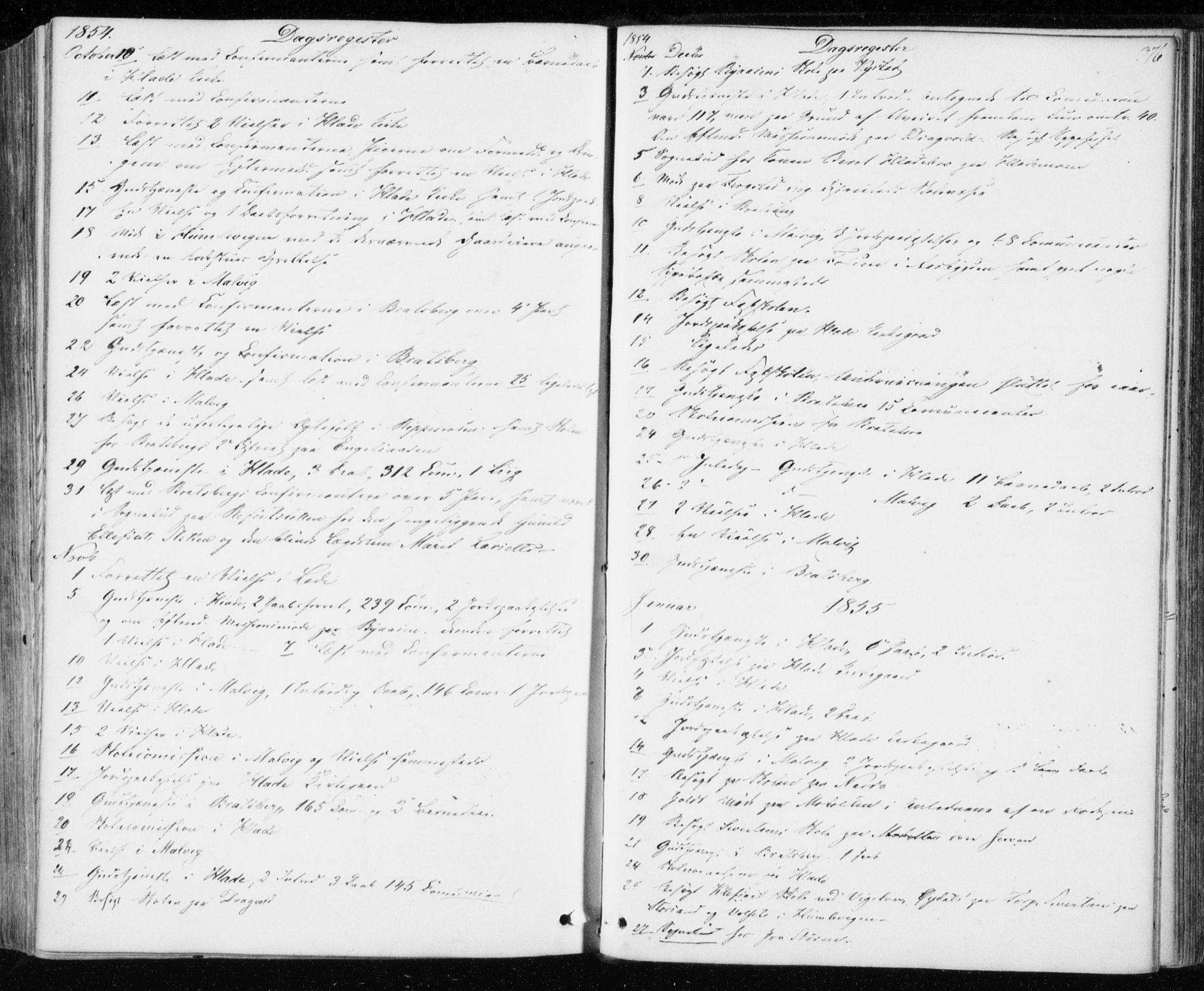 SAT, Ministerialprotokoller, klokkerbøker og fødselsregistre - Sør-Trøndelag, 606/L0291: Ministerialbok nr. 606A06, 1848-1856, s. 376