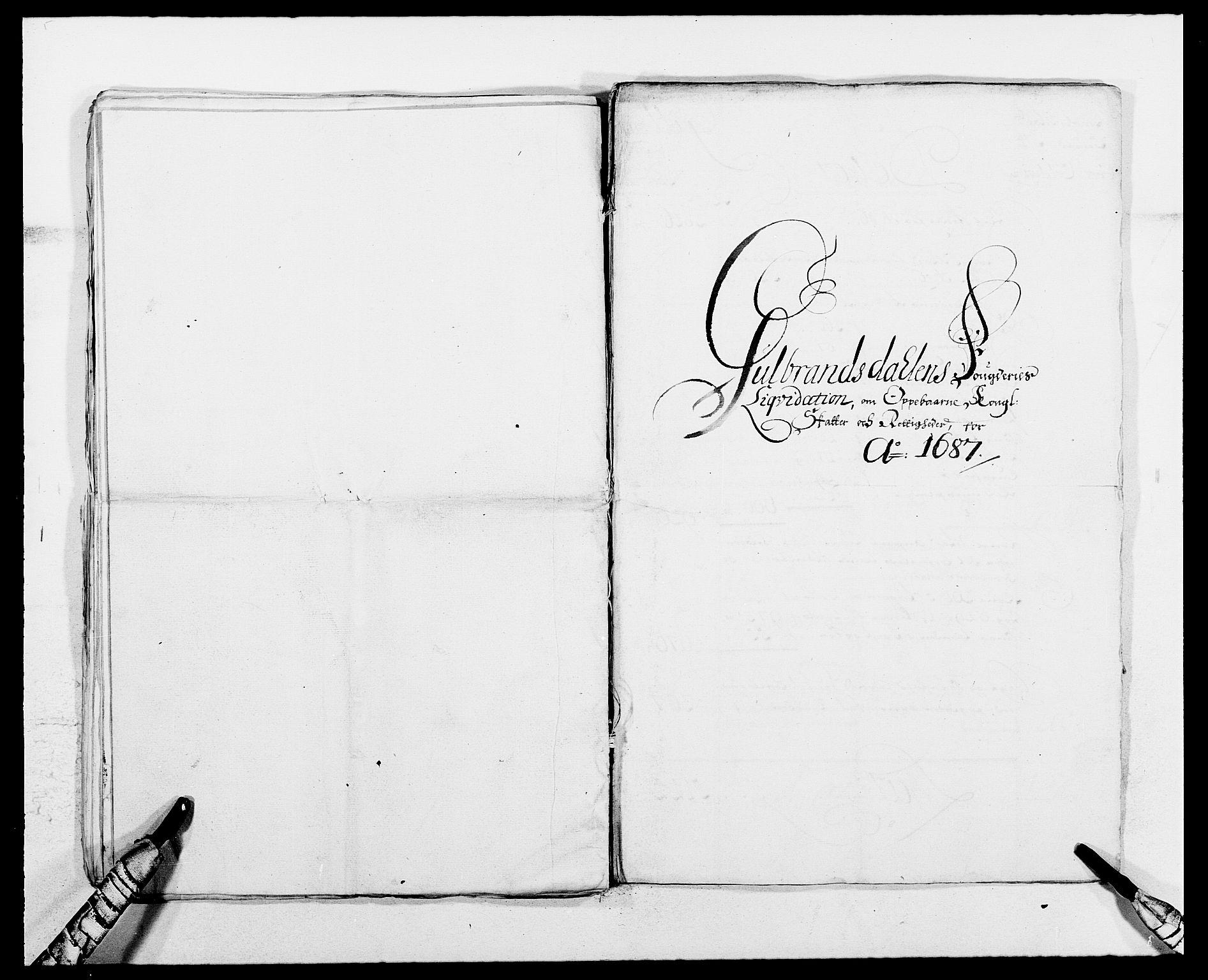 RA, Rentekammeret inntil 1814, Reviderte regnskaper, Fogderegnskap, R17/L1157: Fogderegnskap Gudbrandsdal, 1682-1689, s. 25