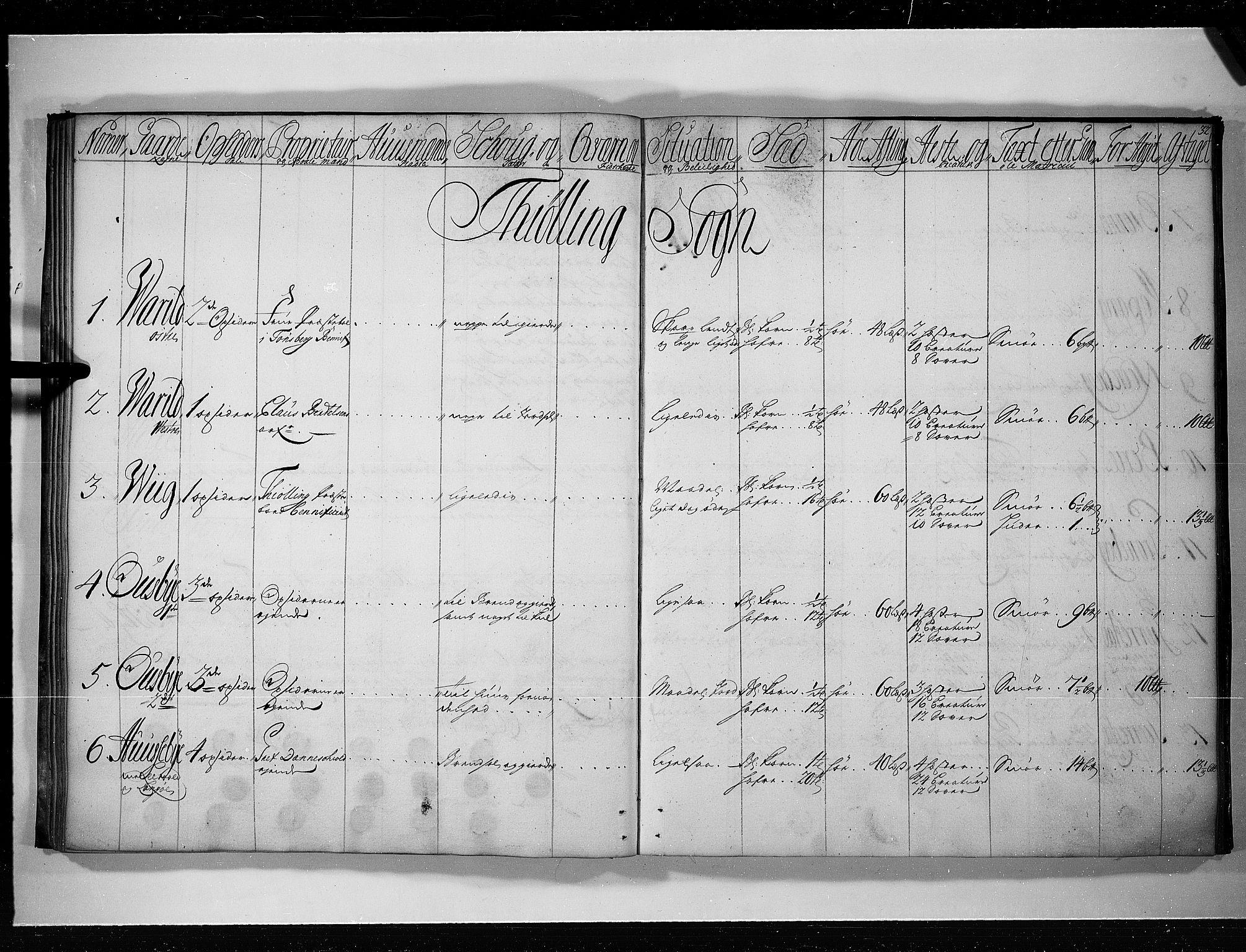 RA, Rentekammeret inntil 1814, Realistisk ordnet avdeling, N/Nb/Nbf/L0117: Larvik grevskap eksaminasjonsprotokoll, 1723, s. 31b-32a