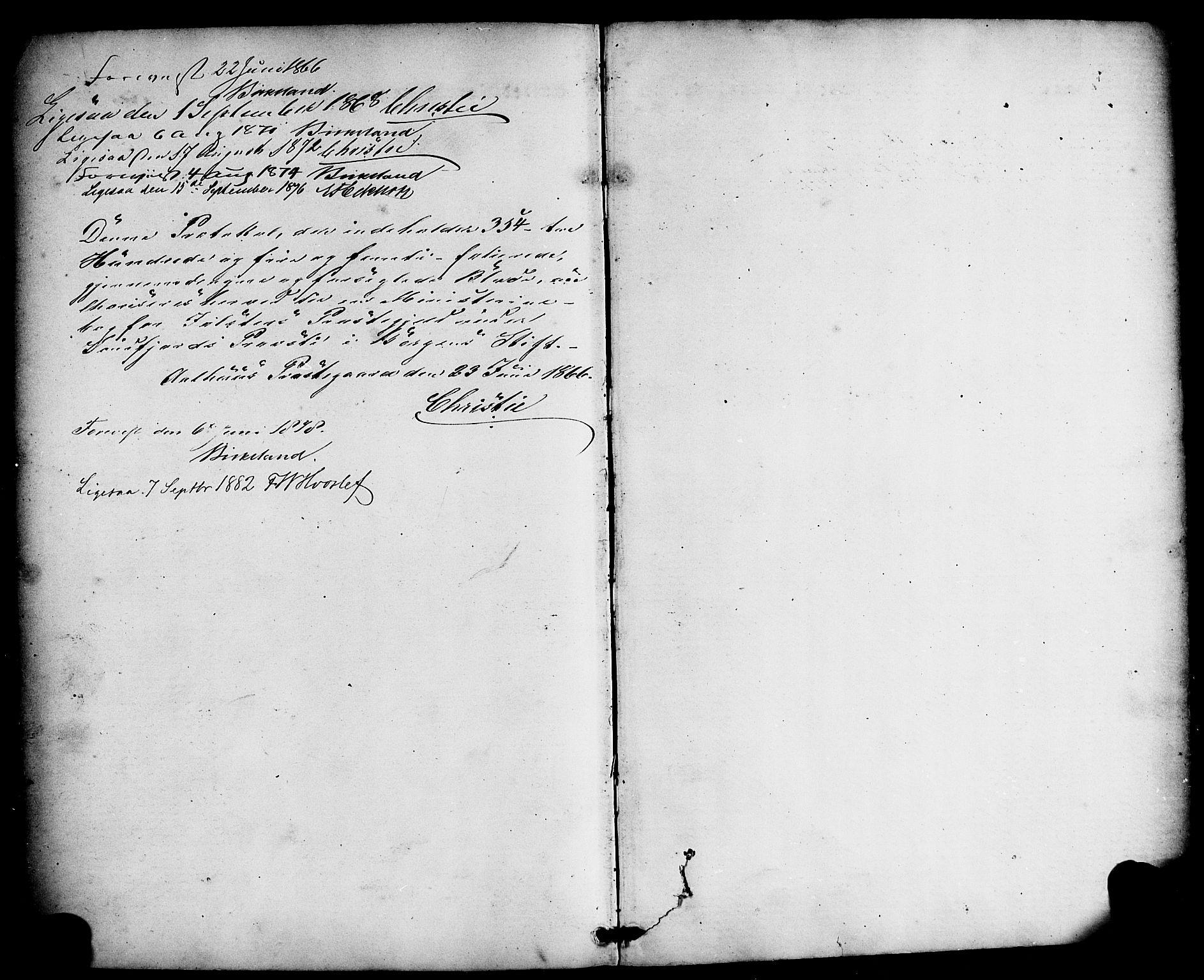 SAB, Jølster Sokneprestembete, Ministerialbok nr. A 11, 1866-1881
