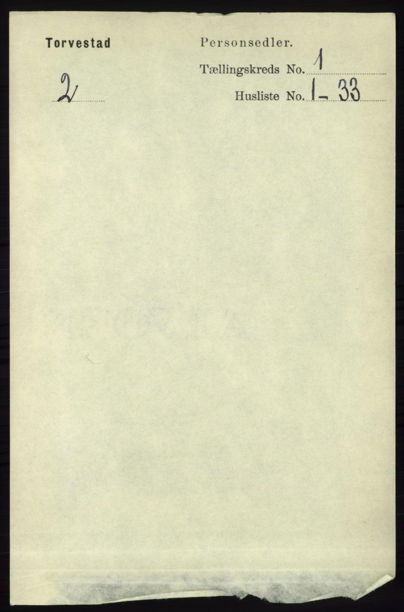 RA, Folketelling 1891 for 1152 Torvastad herred, 1891, s. 85