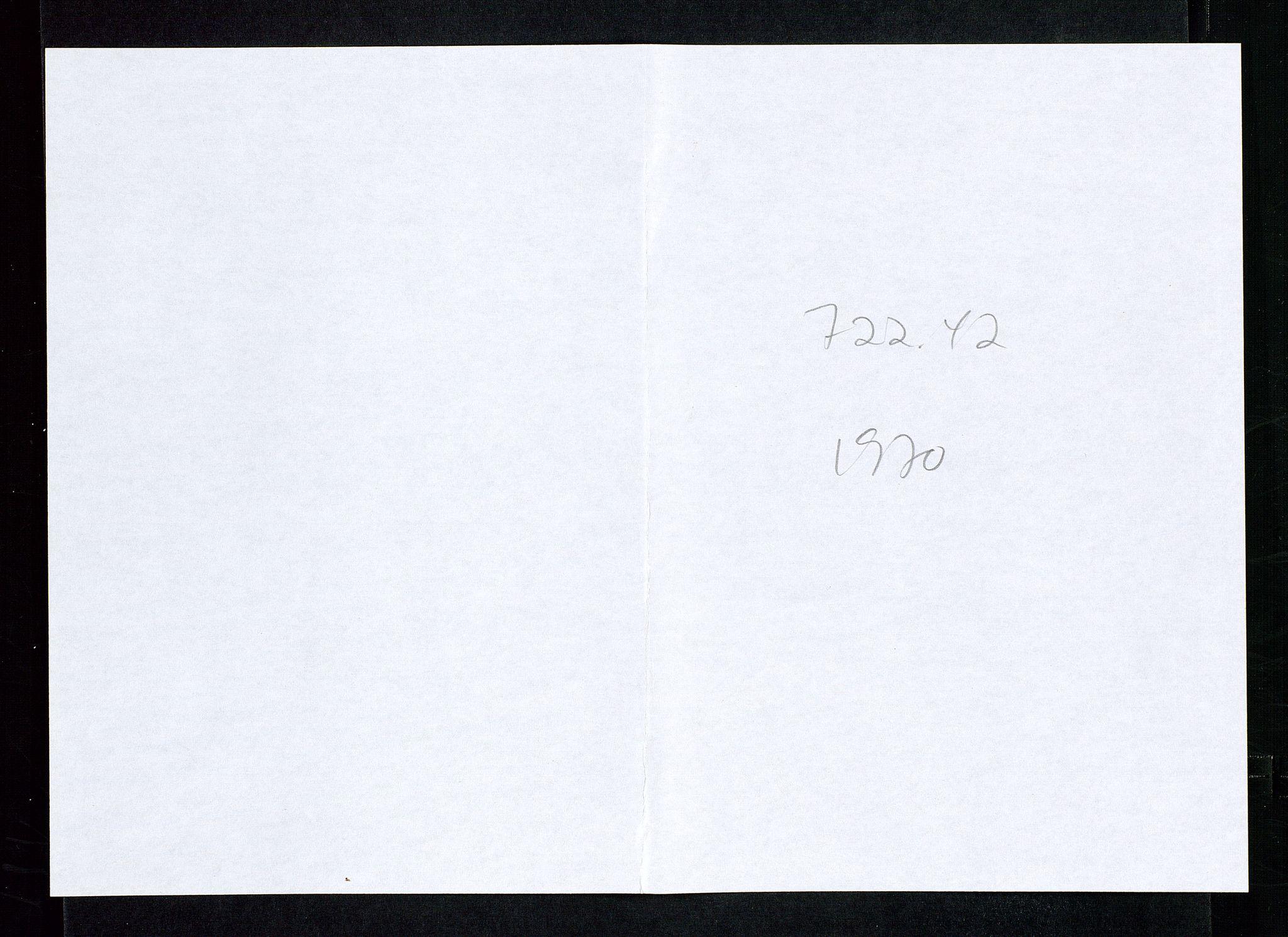 SAST, Industridepartementet, Oljekontoret, Da/L0008:  Arkivnøkkel 721- 722 Geofysikk, forskning, 1970-1972, s. 508