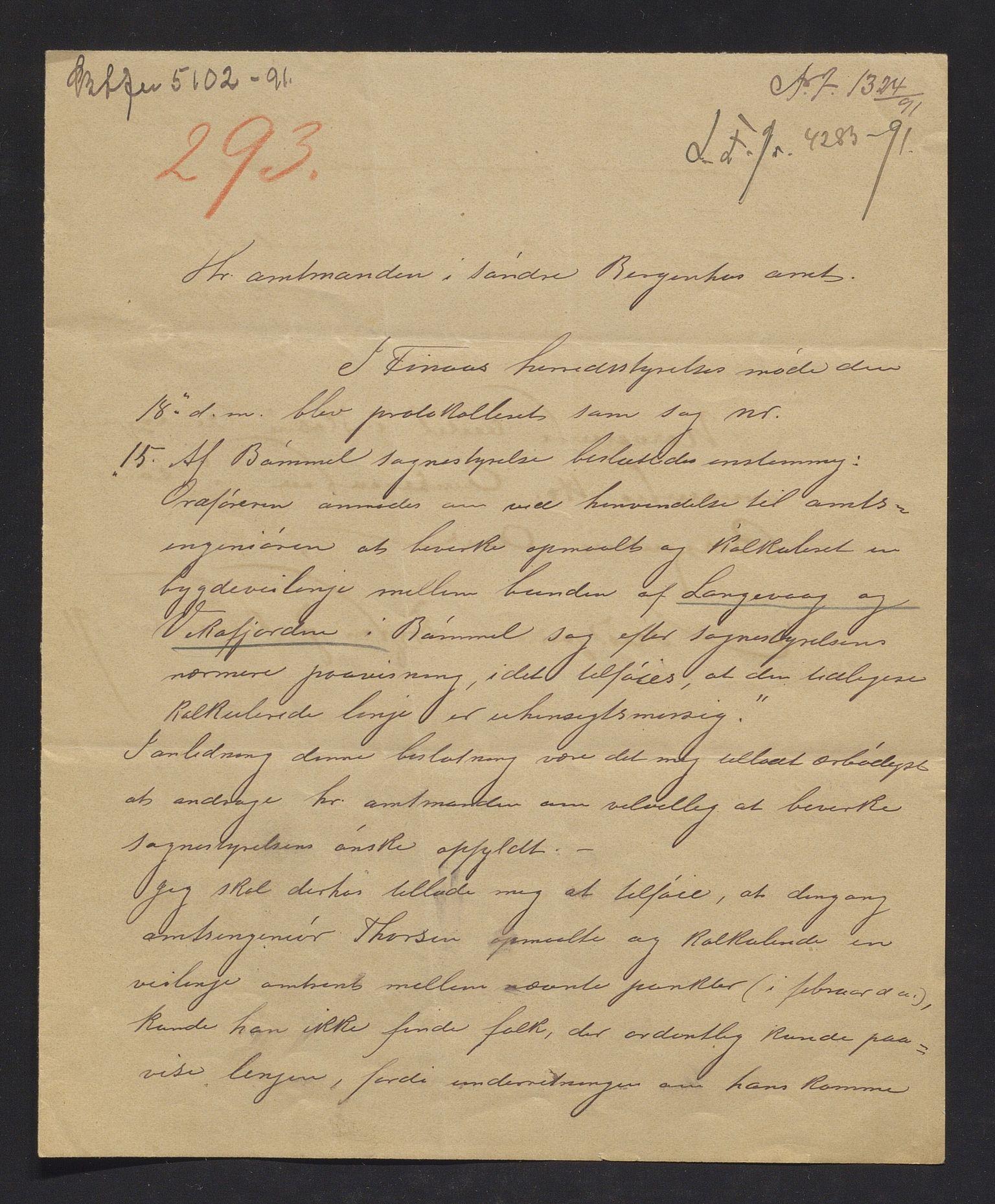 IKAH, Finnaas kommune. Formannskapet, E/Ea/L0001: Rekneskap for veganlegg, 1891-1916