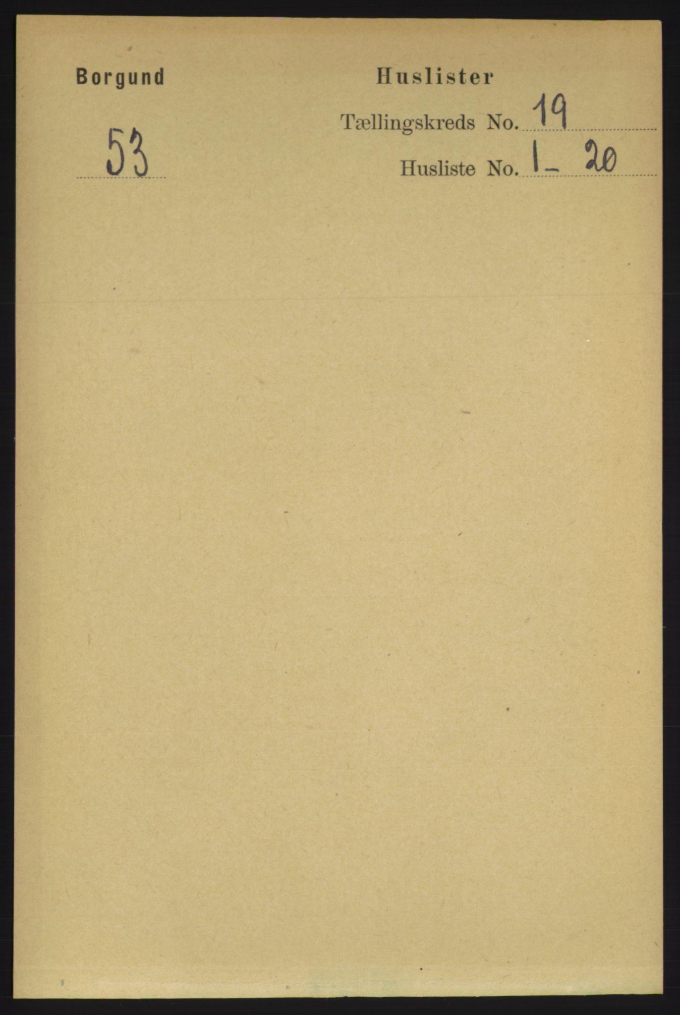 RA, Folketelling 1891 for 1531 Borgund herred, 1891, s. 5942