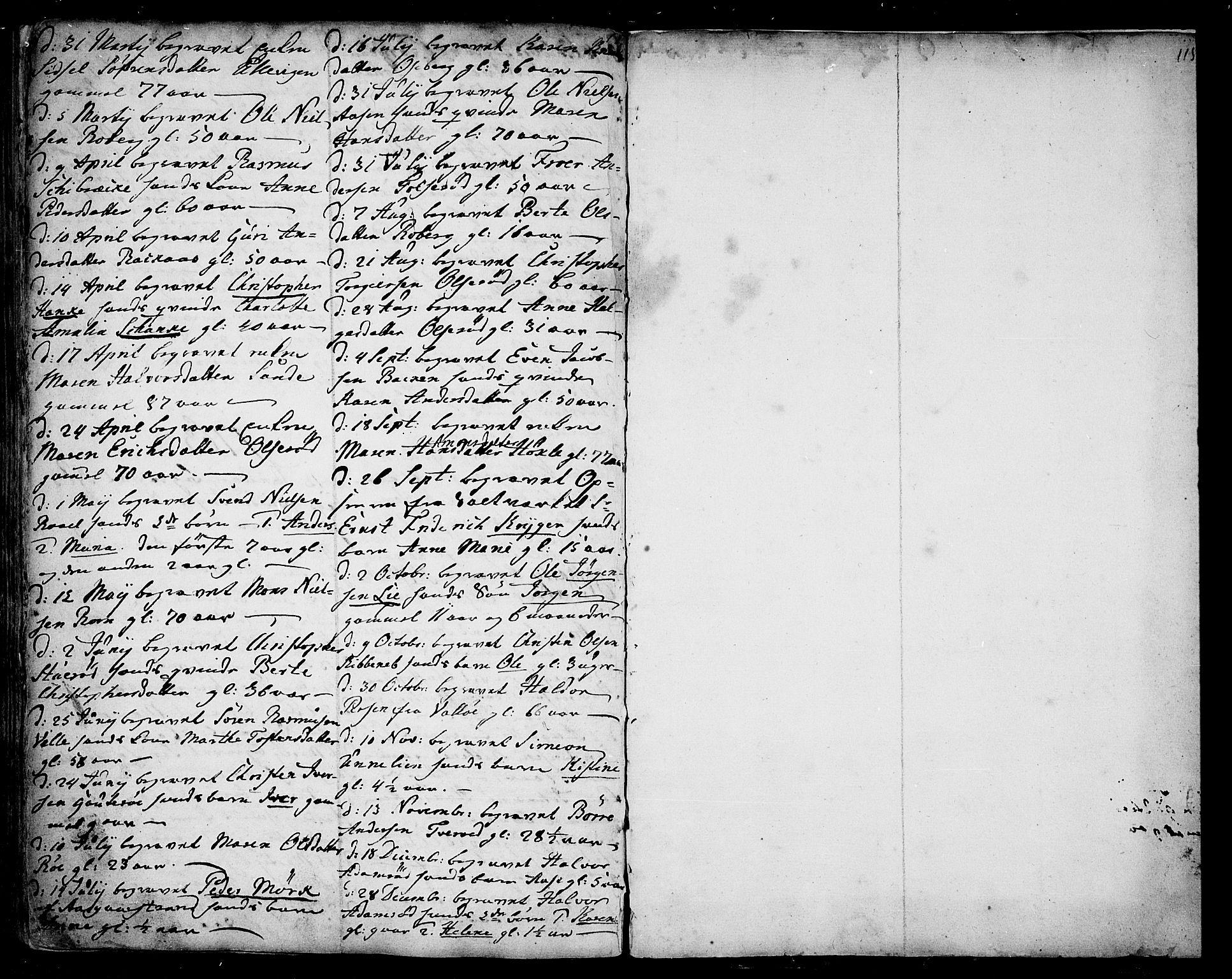 SAKO, Sem kirkebøker, F/Fb/L0001: Ministerialbok nr. II 1, 1702-1764, s. 115