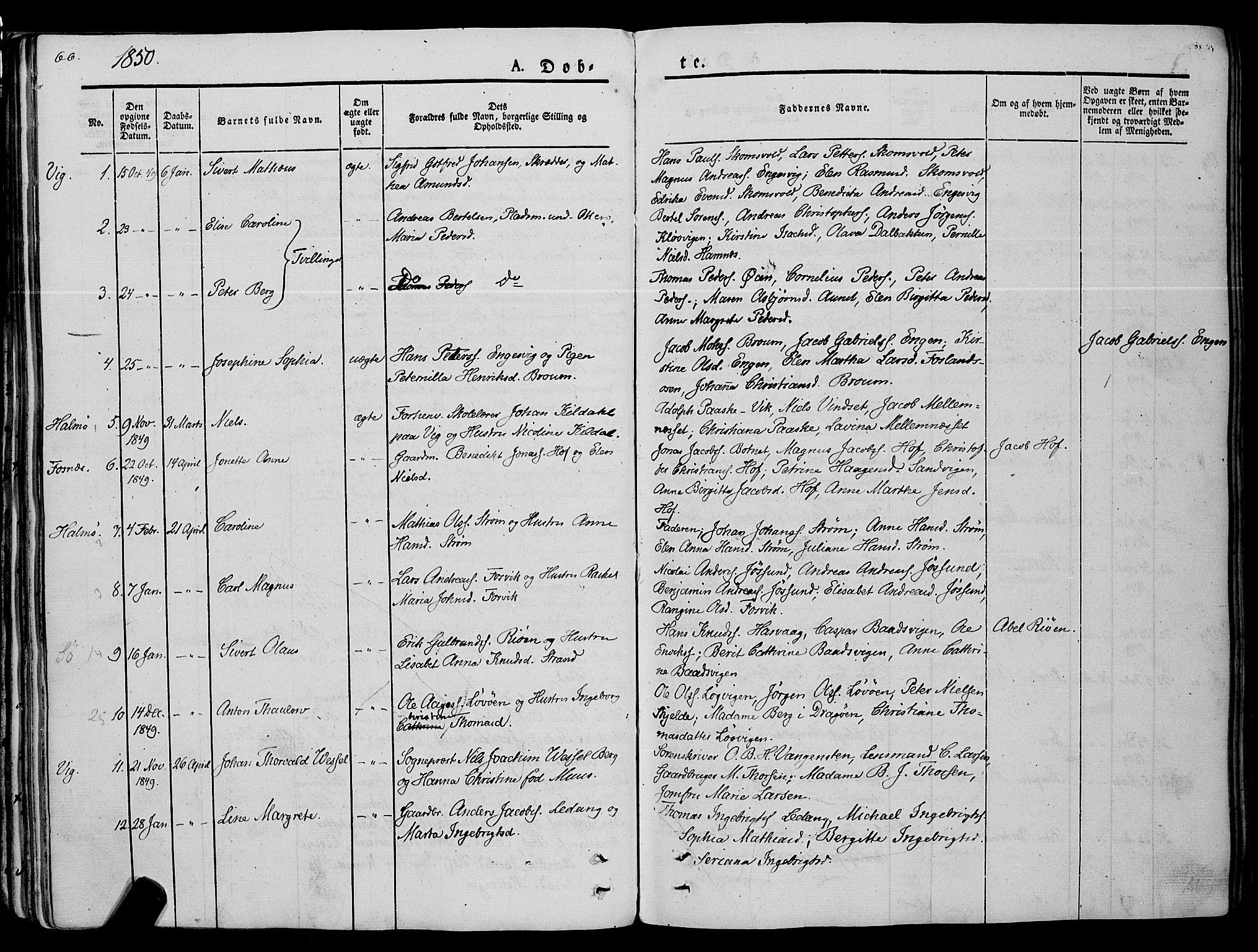 SAT, Ministerialprotokoller, klokkerbøker og fødselsregistre - Nord-Trøndelag, 773/L0614: Ministerialbok nr. 773A05, 1831-1856, s. 66